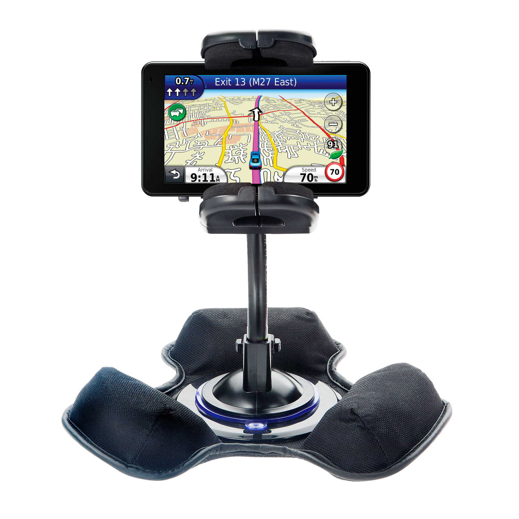 Dash and Windshield Holder compatible with the Garmin Nuvi 3750