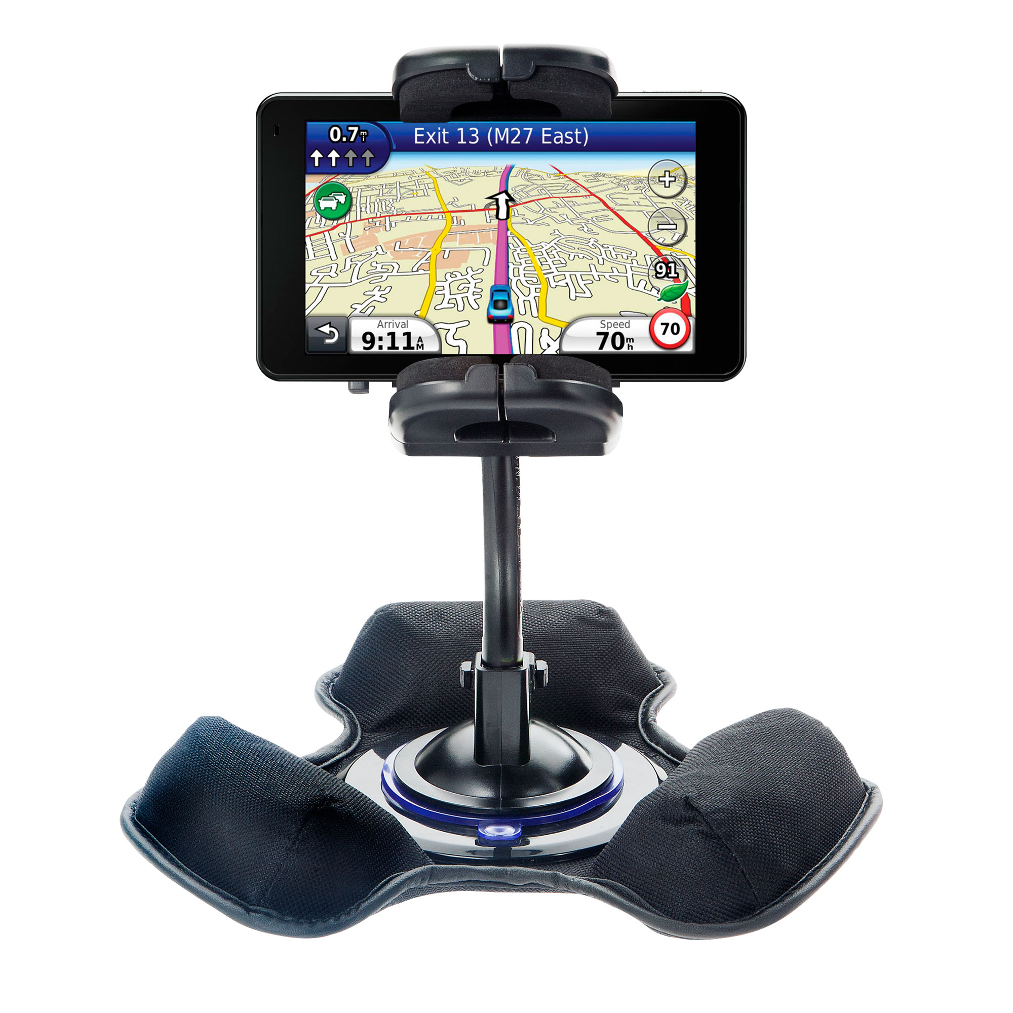 Dash and Windshield Holder compatible with the Garmin Nuvi 3790T 3790LMT