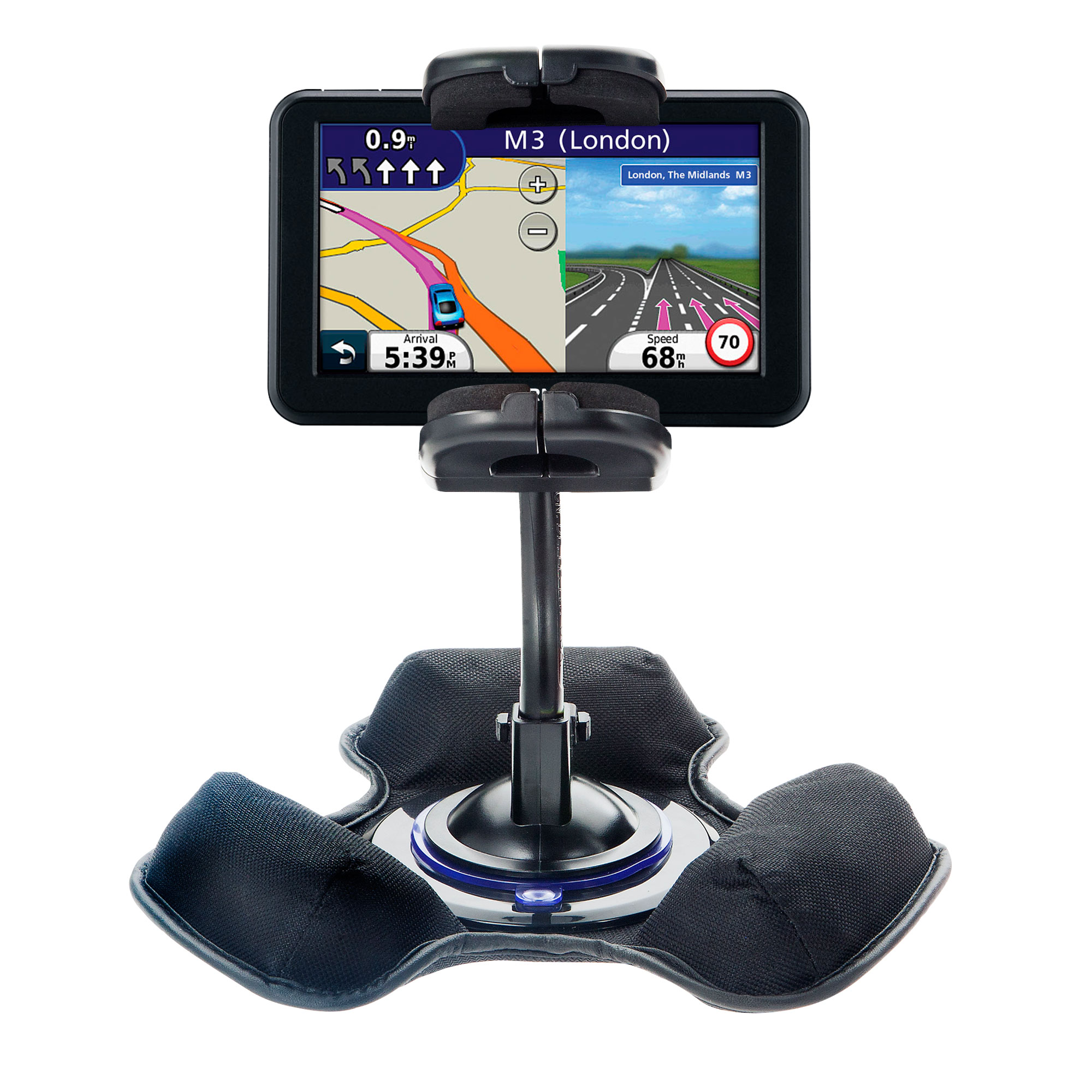 Dash and Windshield Holder compatible with the Garmin Nuvi 40 40LM