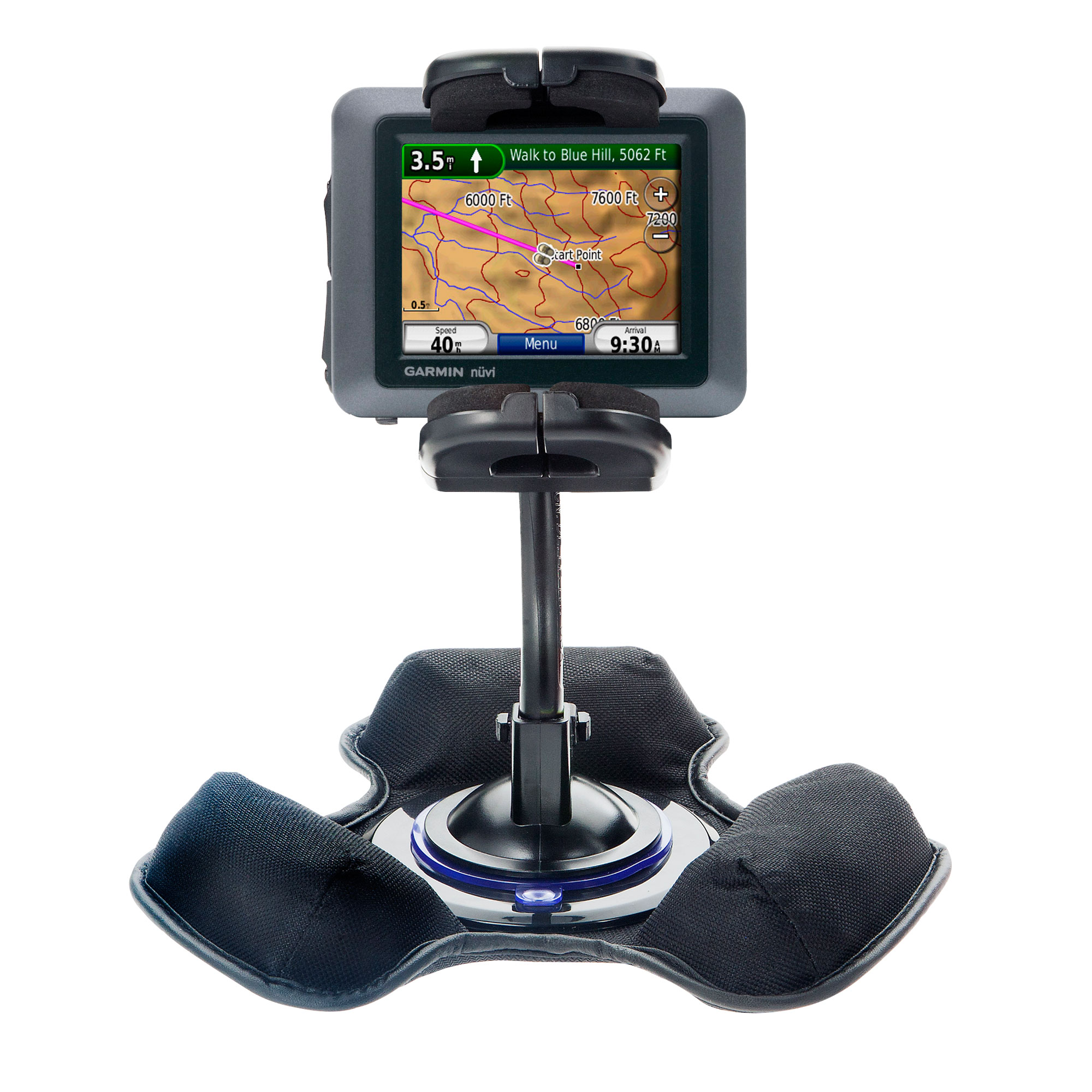 Dash and Windshield Holder compatible with the Garmin Nuvi 500