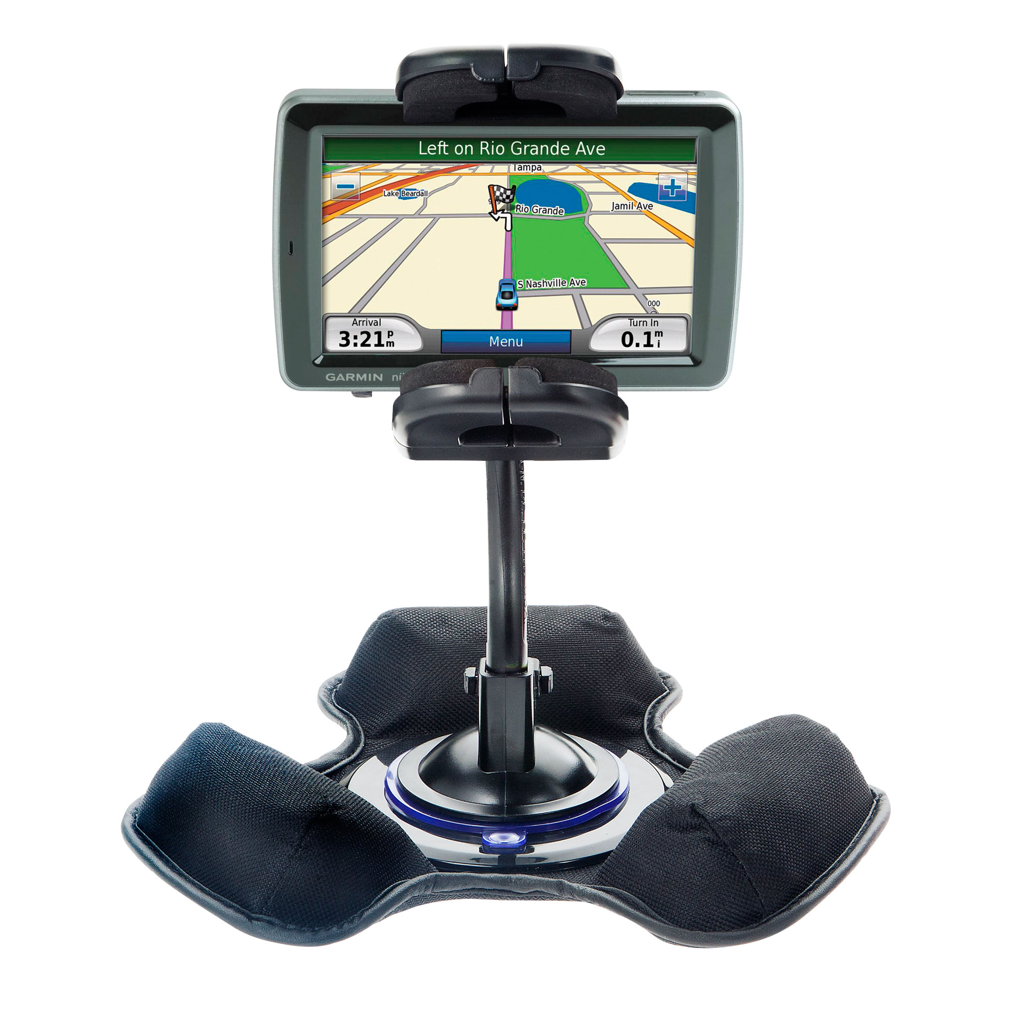 Dash and Windshield Holder compatible with the Garmin Nuvi 5000