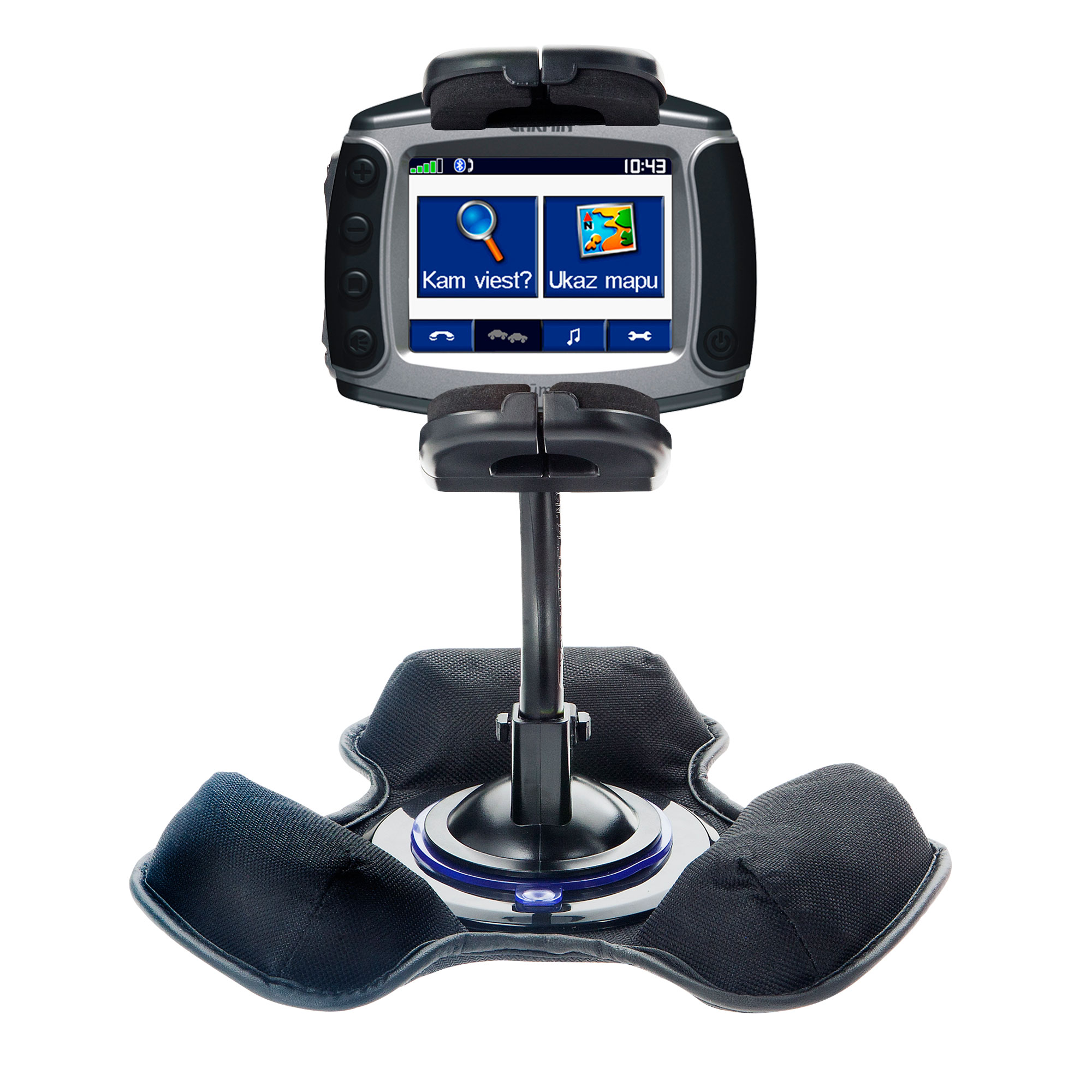 Dash and Windshield Holder compatible with the Garmin Zumo 400