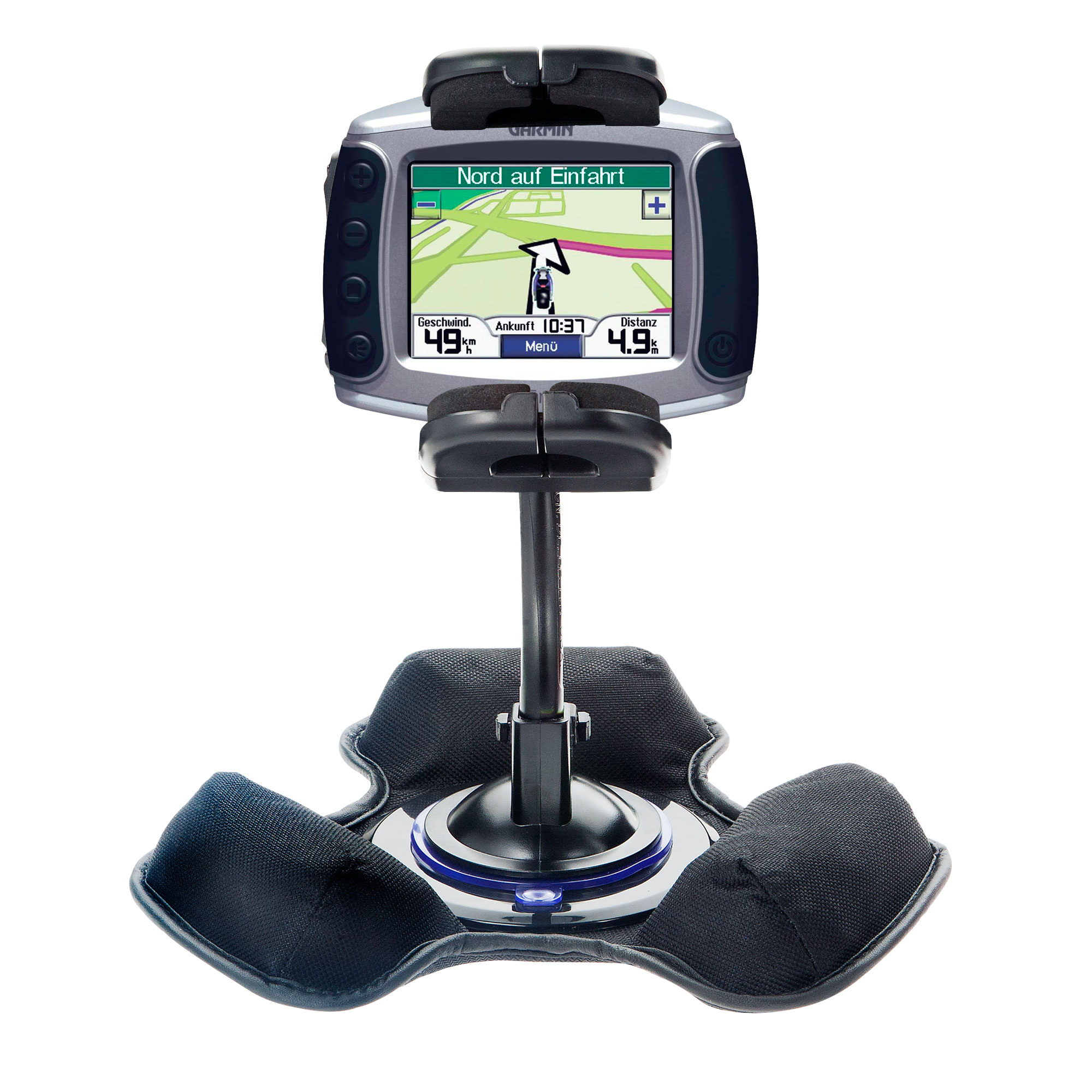 Dash and Windshield Holder compatible with the Garmin Zumo 450