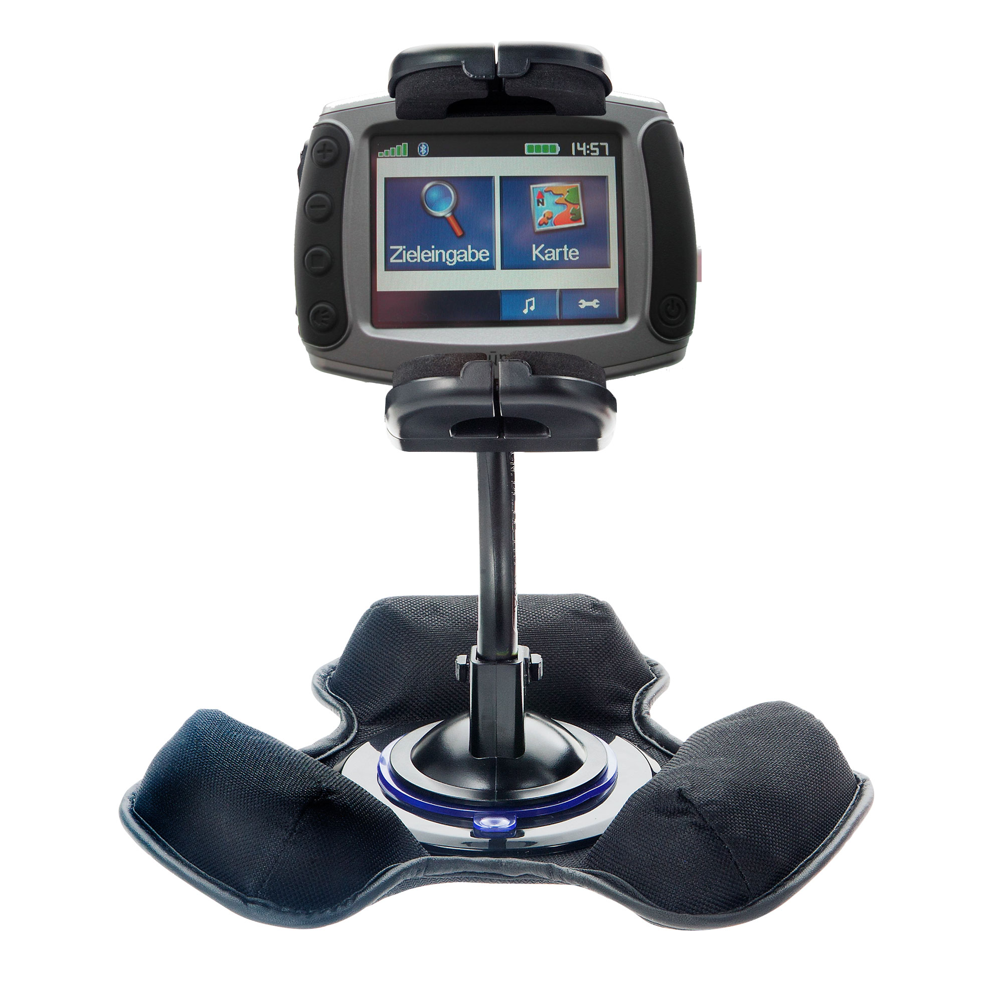 Dash and Windshield Holder compatible with the Garmin Zumo 500