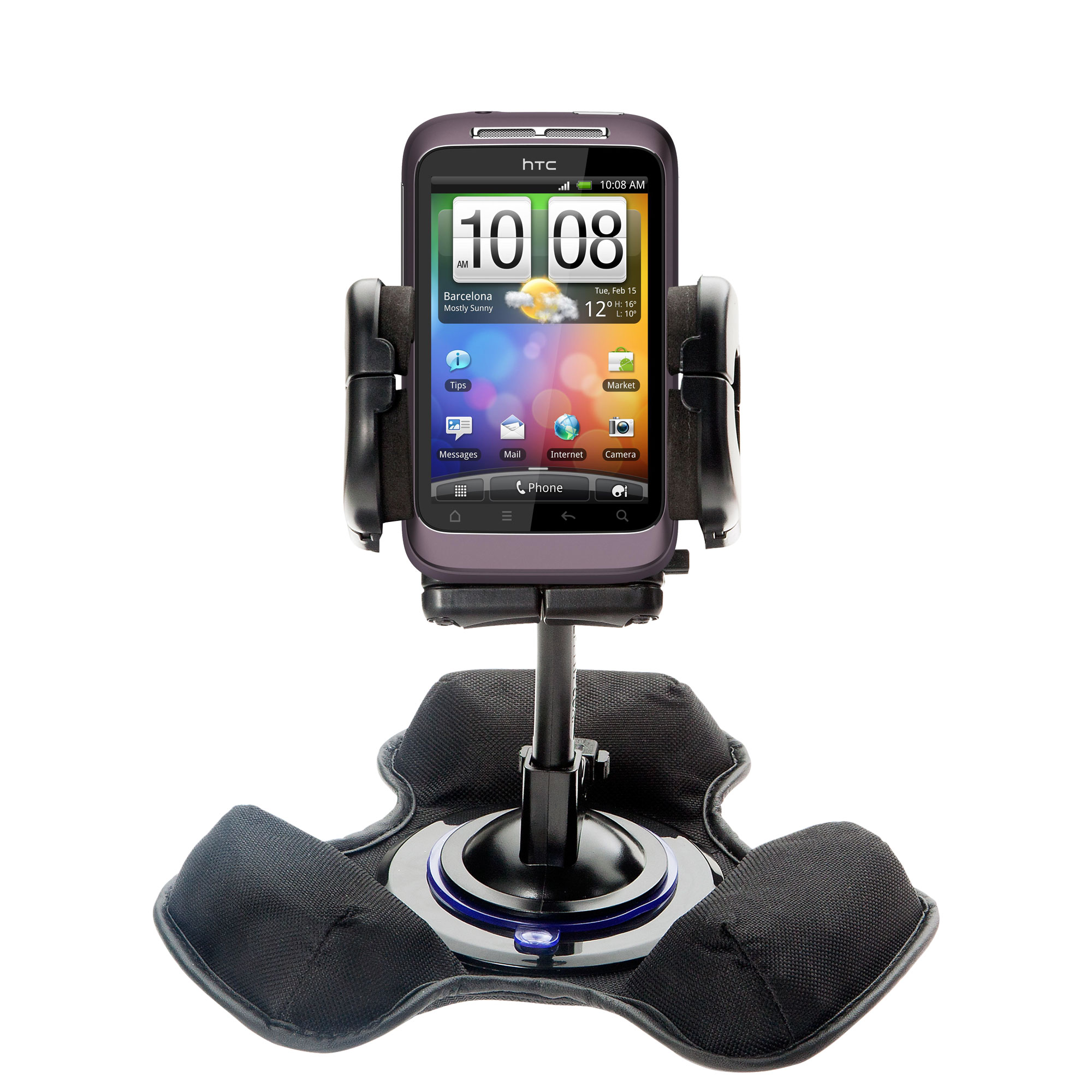 Dash and Windshield Holder compatible with the HTC Bliss