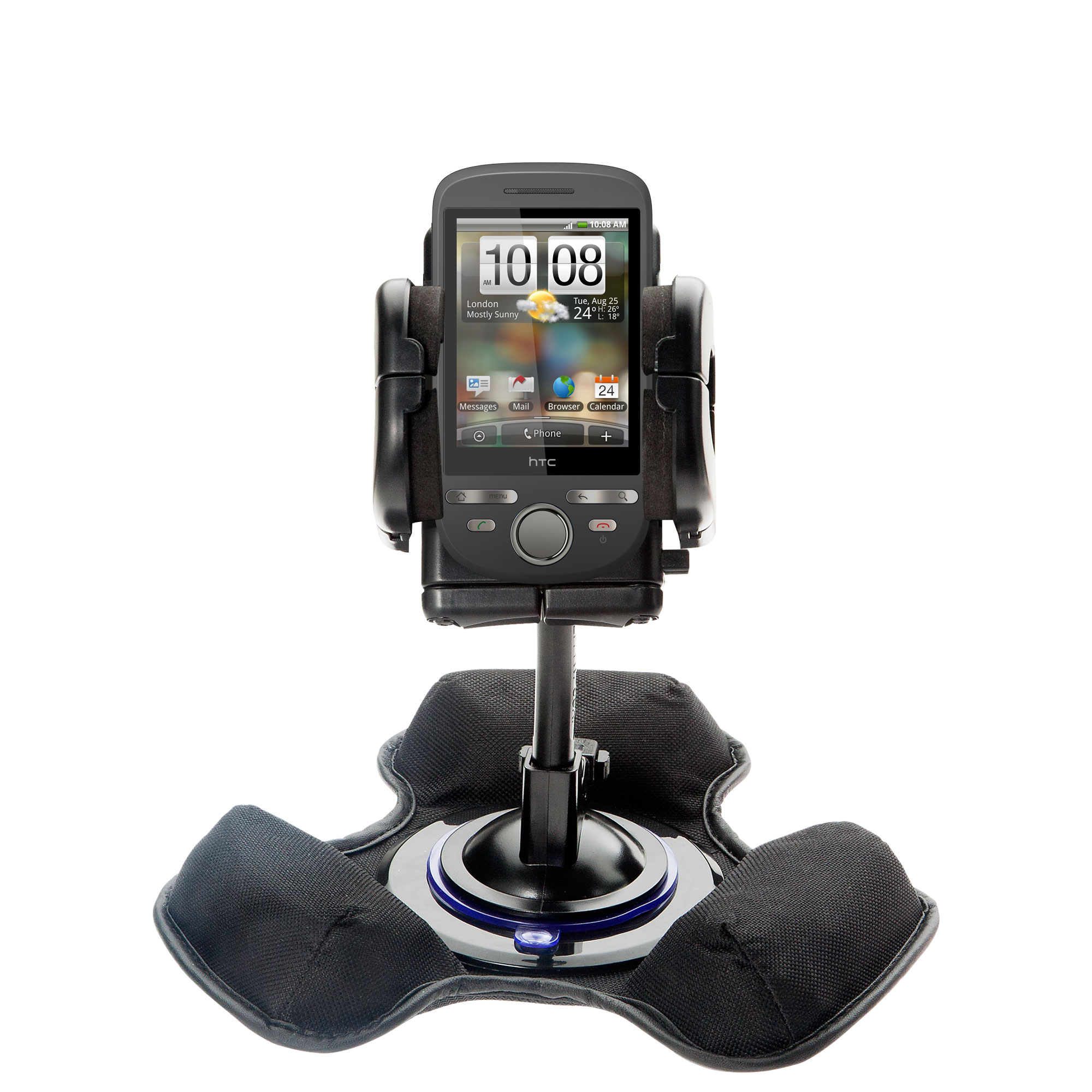 Dash and Windshield Holder compatible with the HTC Click