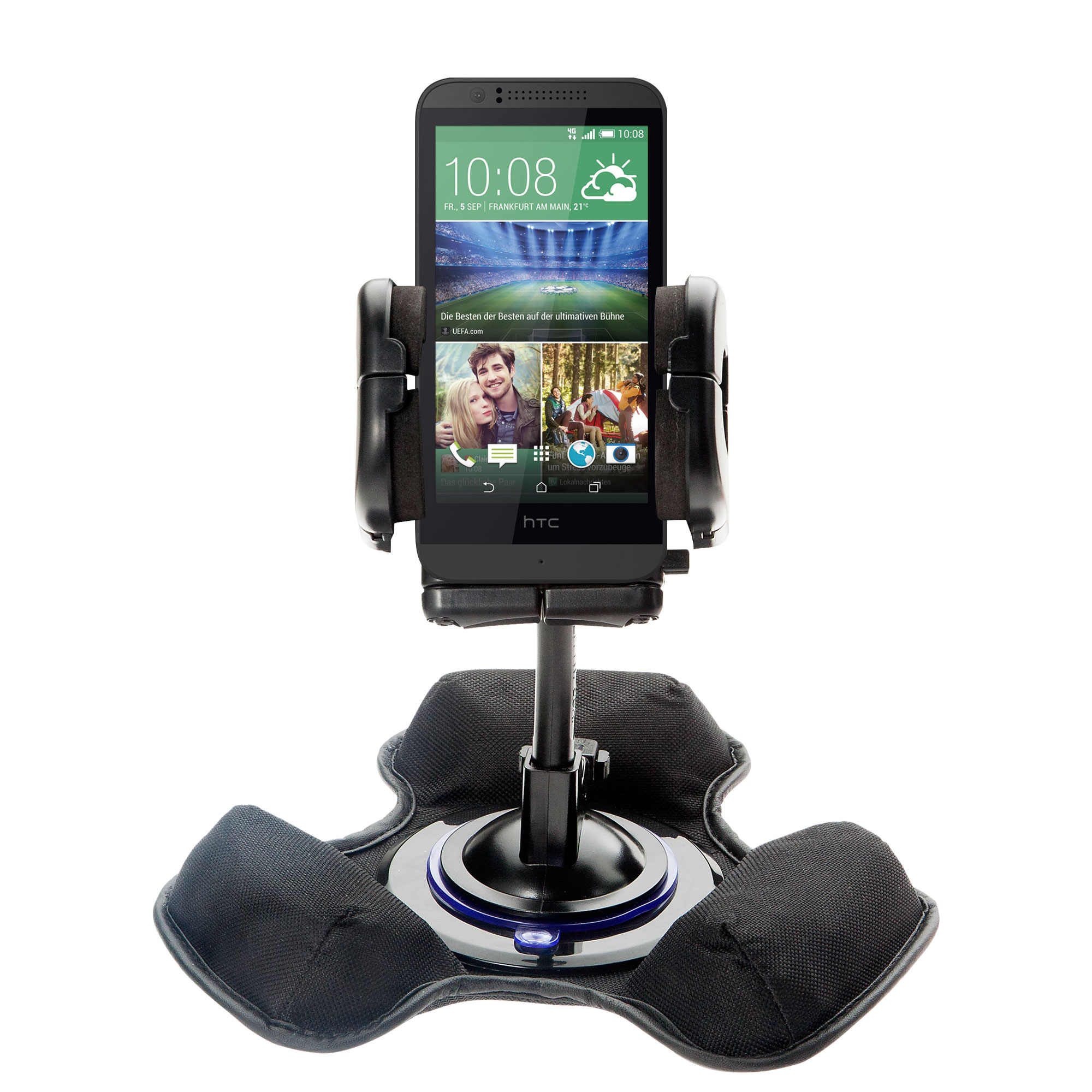 Dash and Windshield Holder compatible with the HTC Desire 320