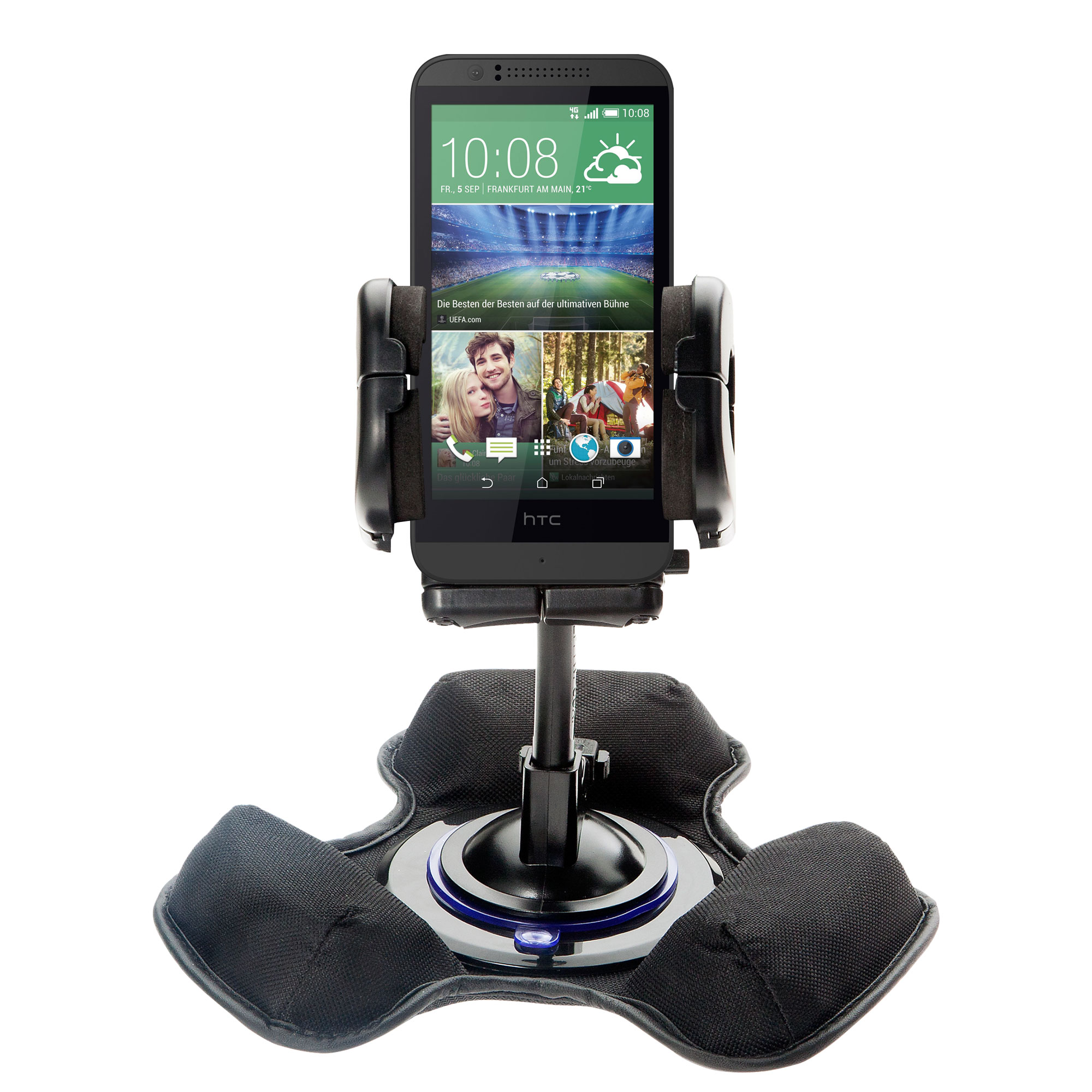 Dash and Windshield Holder compatible with the HTC Desire 510
