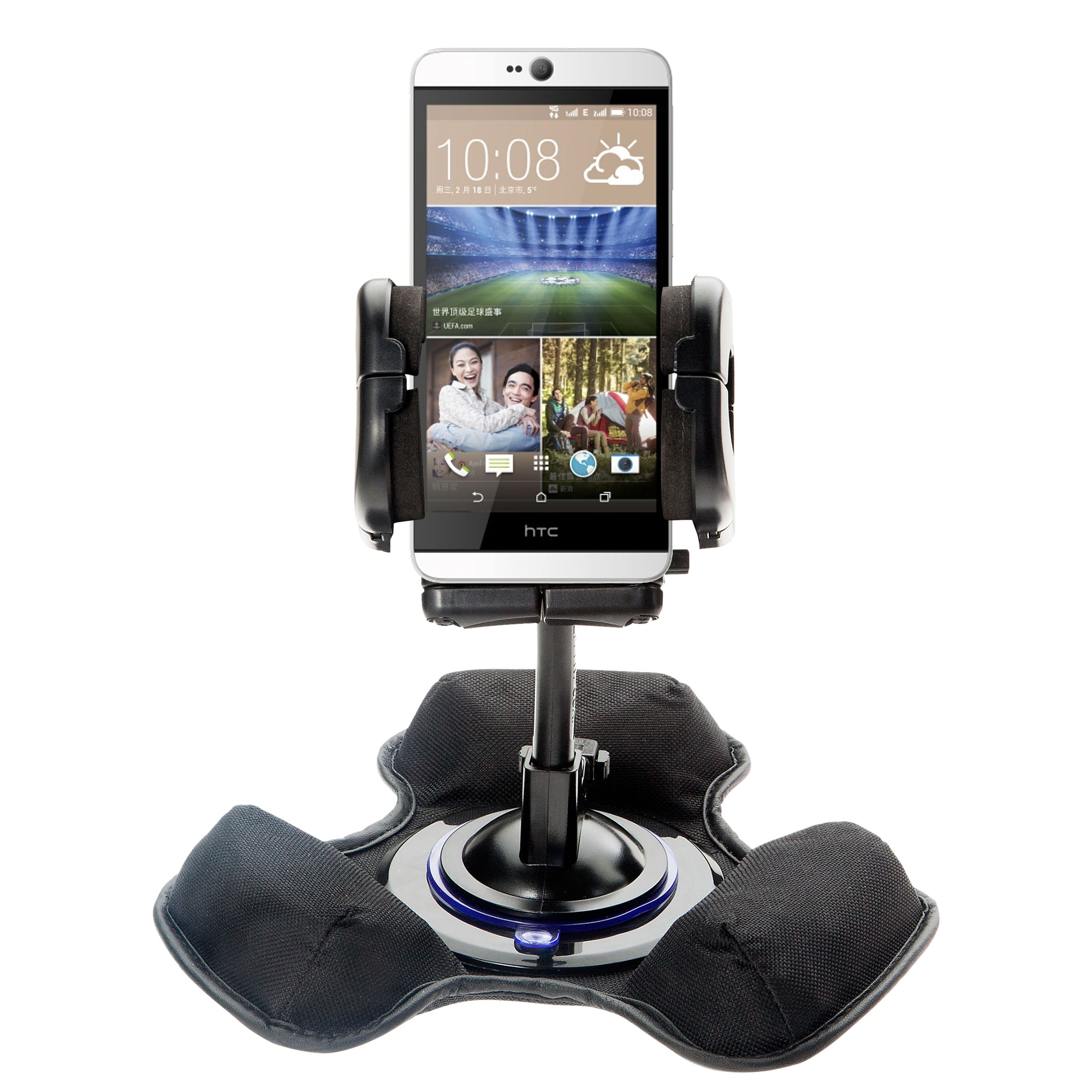 Dash and Windshield Holder compatible with the HTC Desire 826