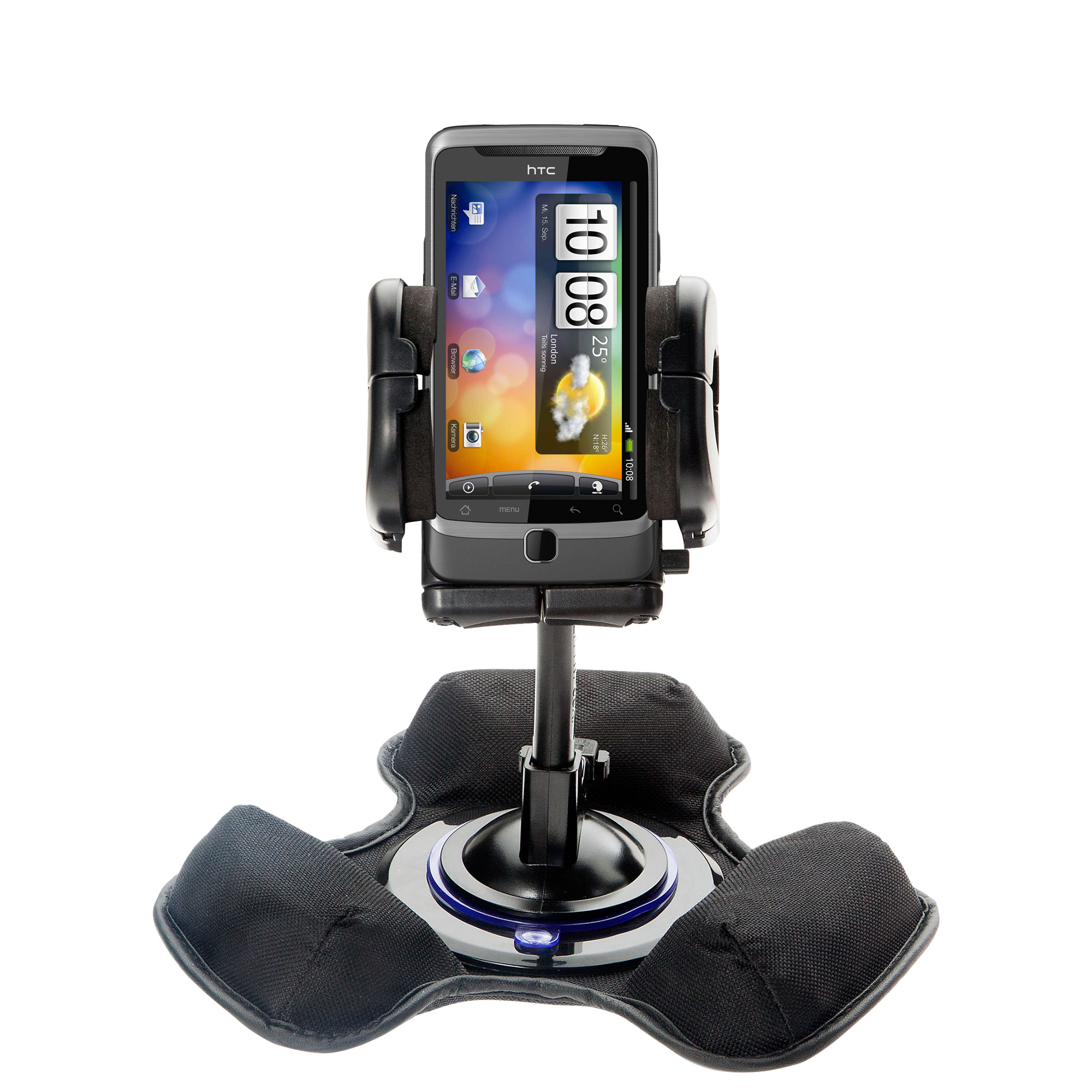 Dash and Windshield Holder compatible with the HTC Desire Z