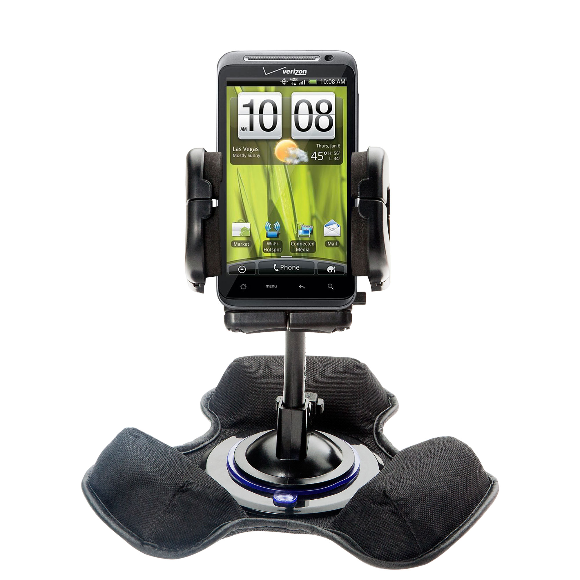 Dash and Windshield Holder compatible with the HTC Droid Thunderbolt
