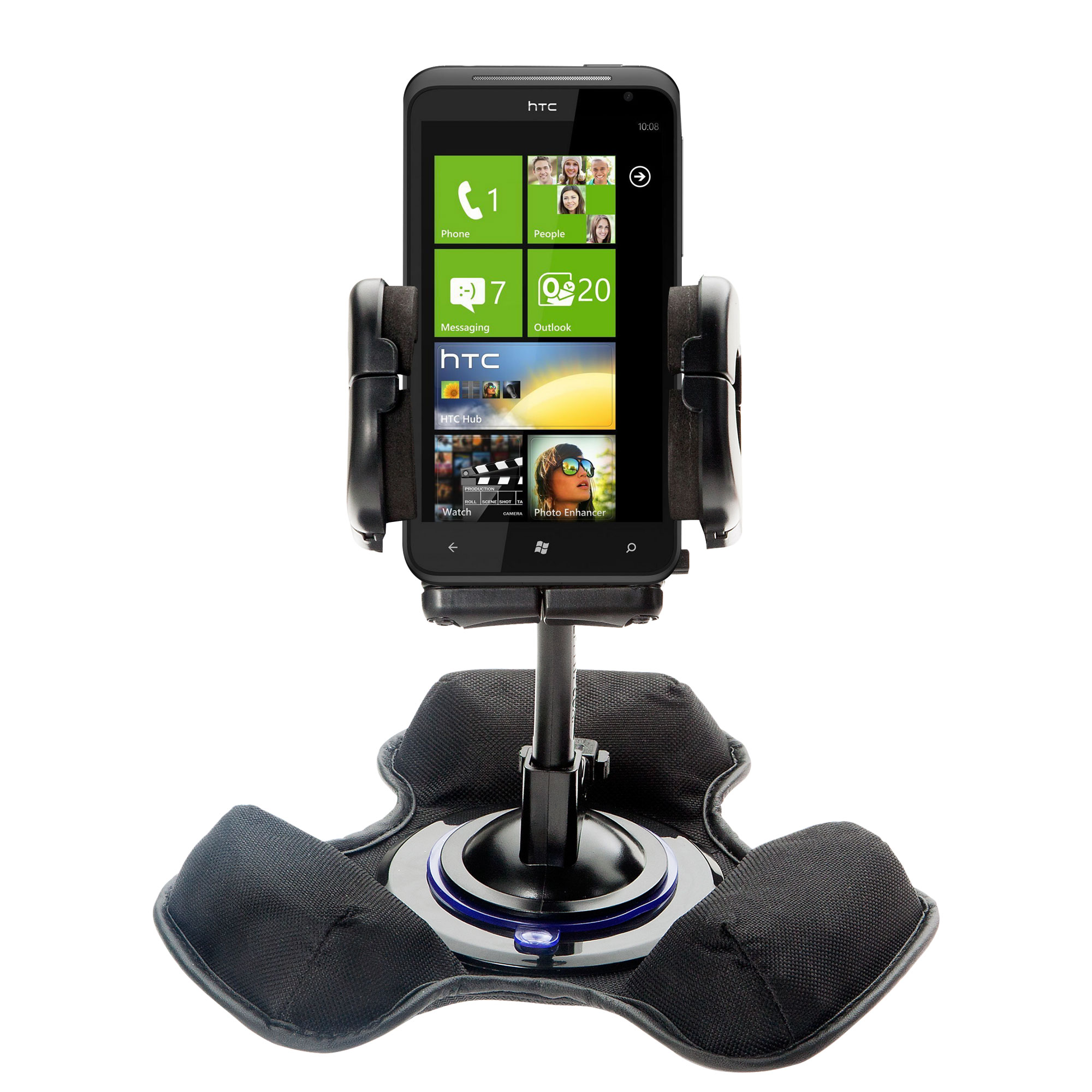 Dash and Windshield Holder compatible with the HTC Eternity