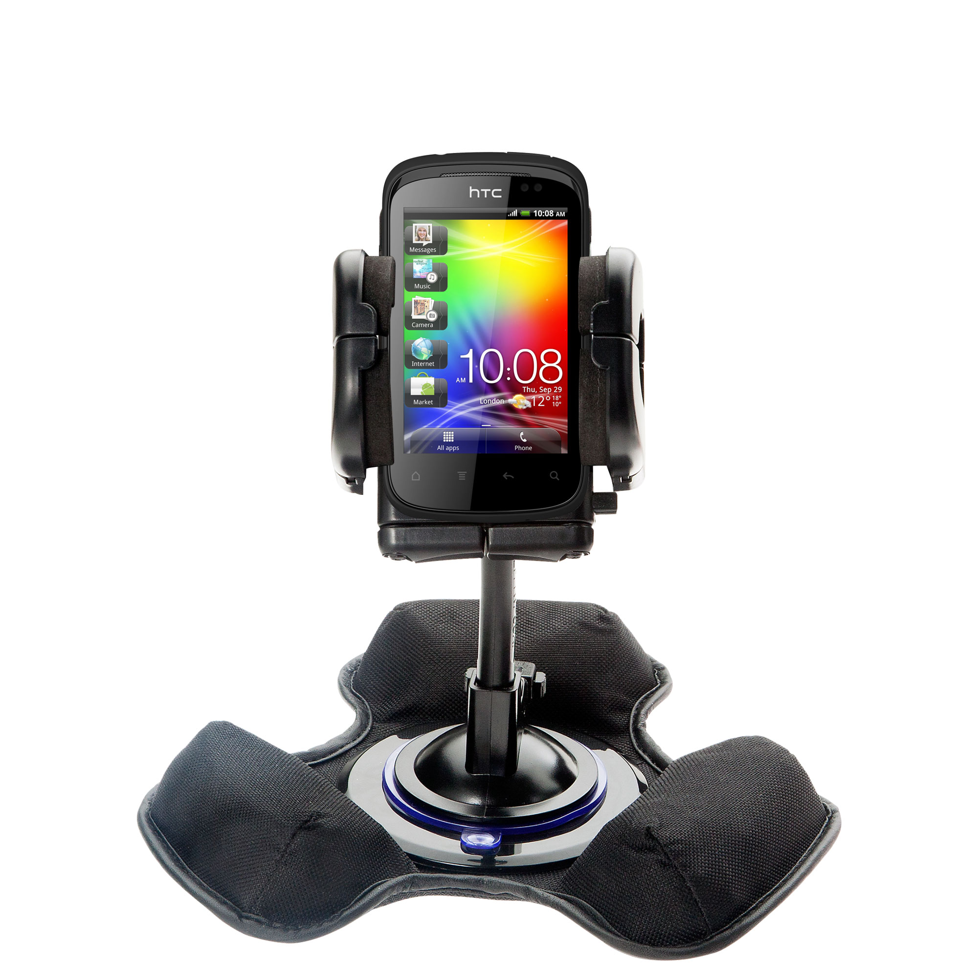 Dash and Windshield Holder compatible with the HTC Explorer