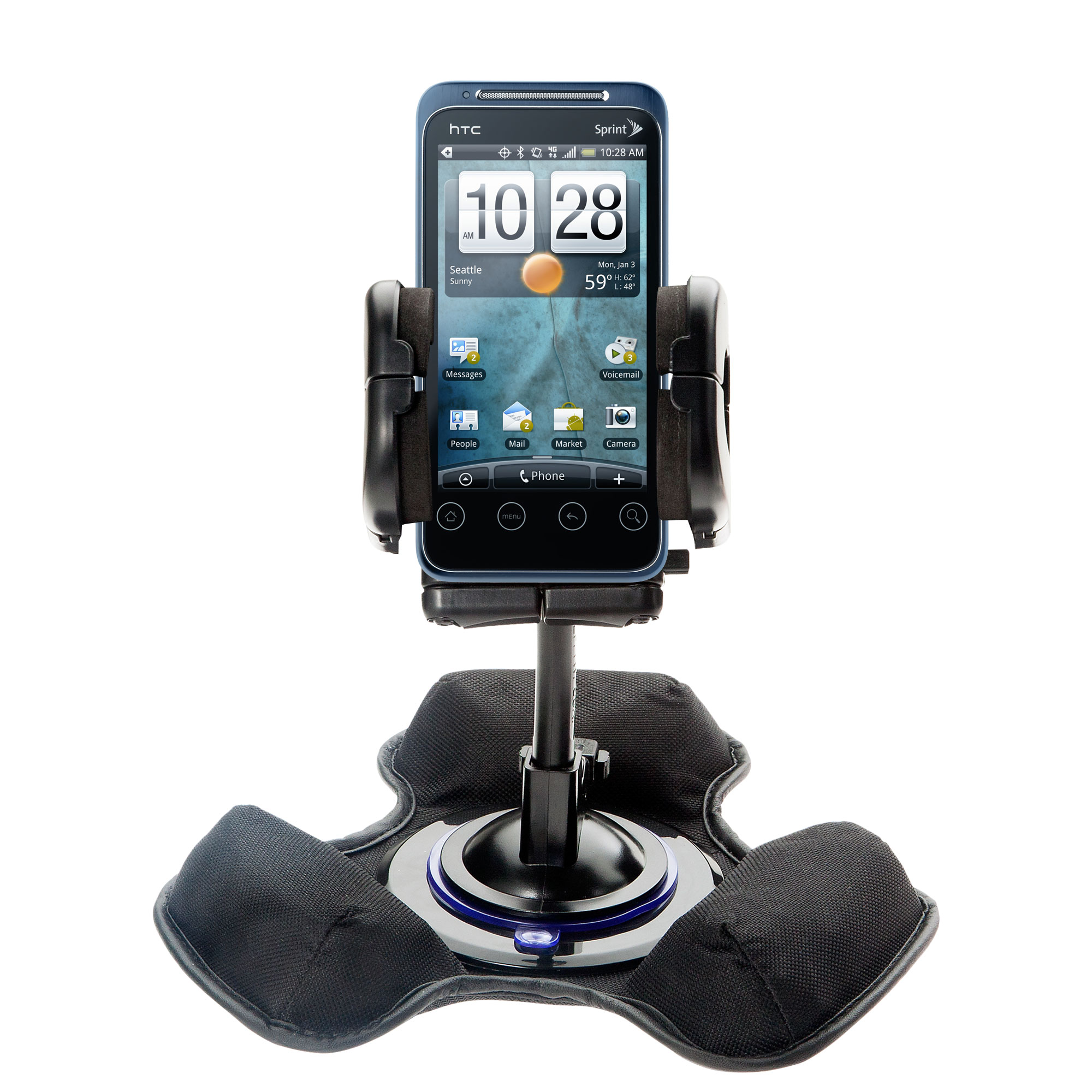 Dash and Windshield Holder compatible with the HTC Knight