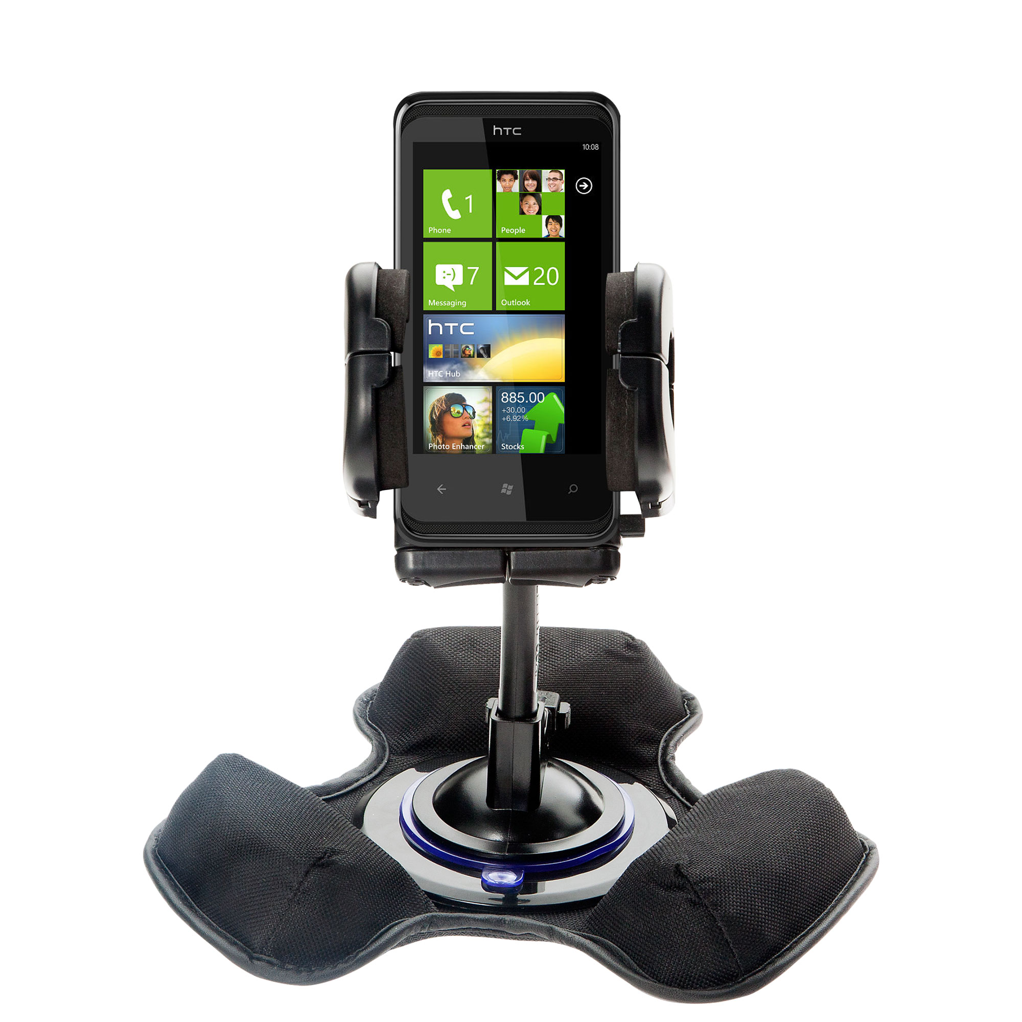 Dash and Windshield Holder compatible with the HTC Mazaa