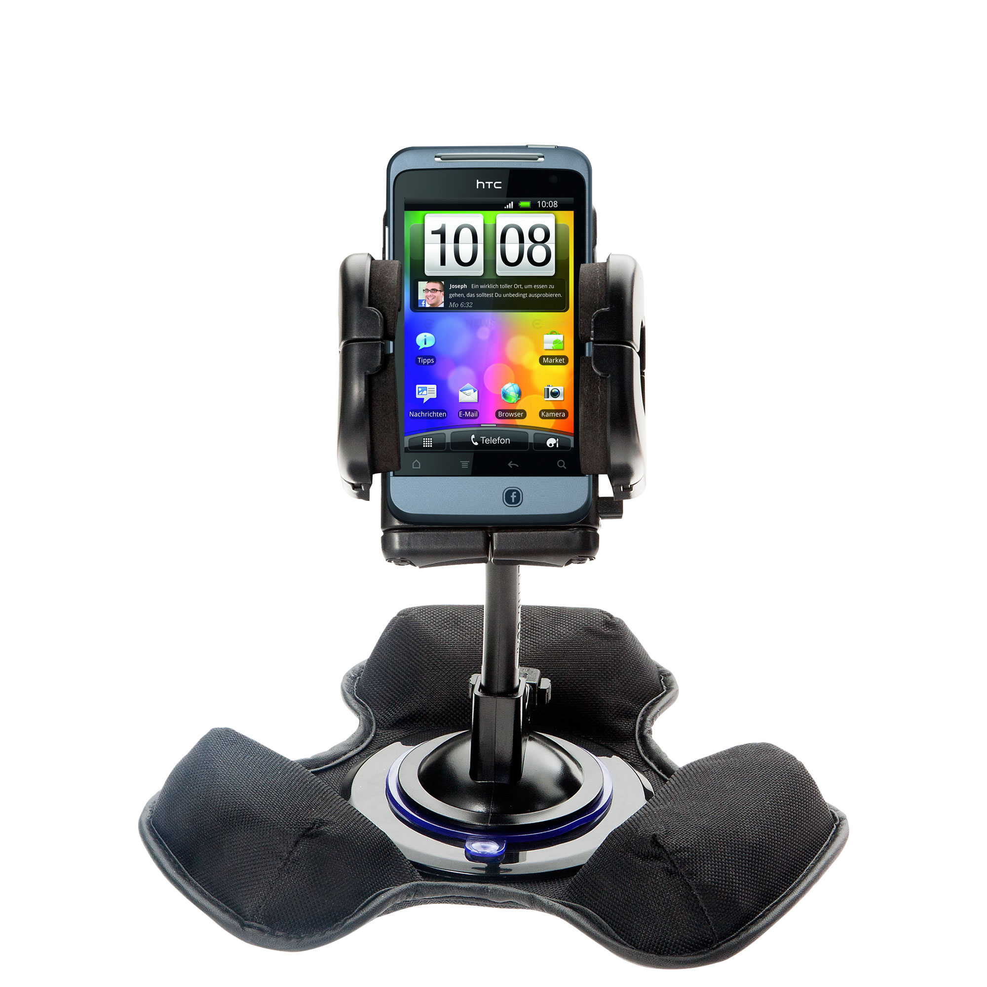 Dash and Windshield Holder compatible with the HTC Salsa