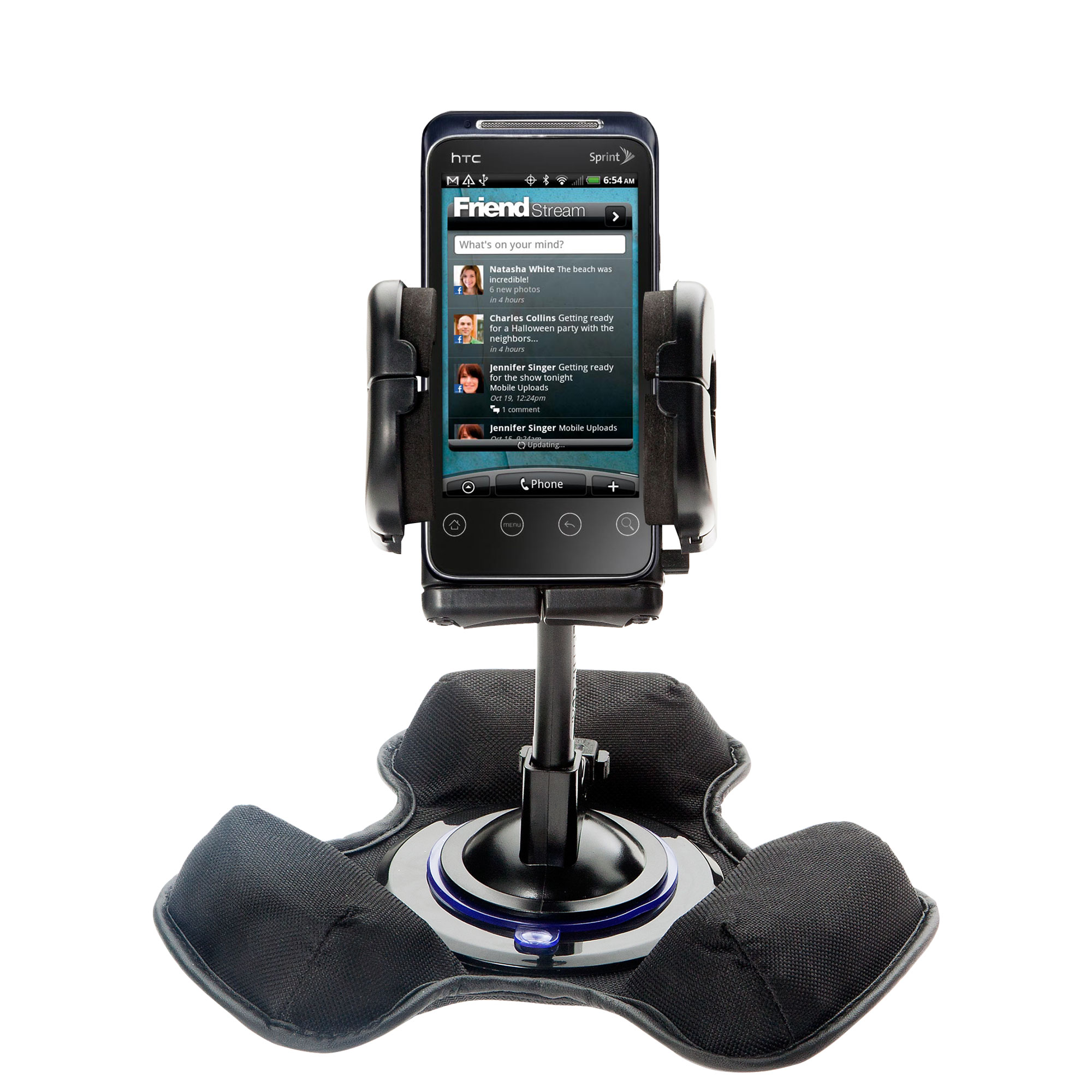 Dash and Windshield Holder compatible with the HTC Supersonic