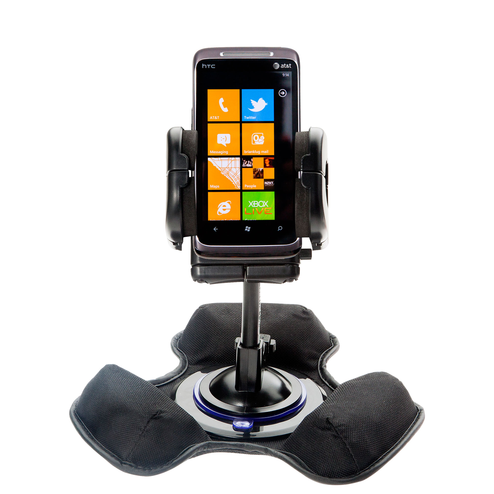 Dash and Windshield Holder compatible with the HTC Surround