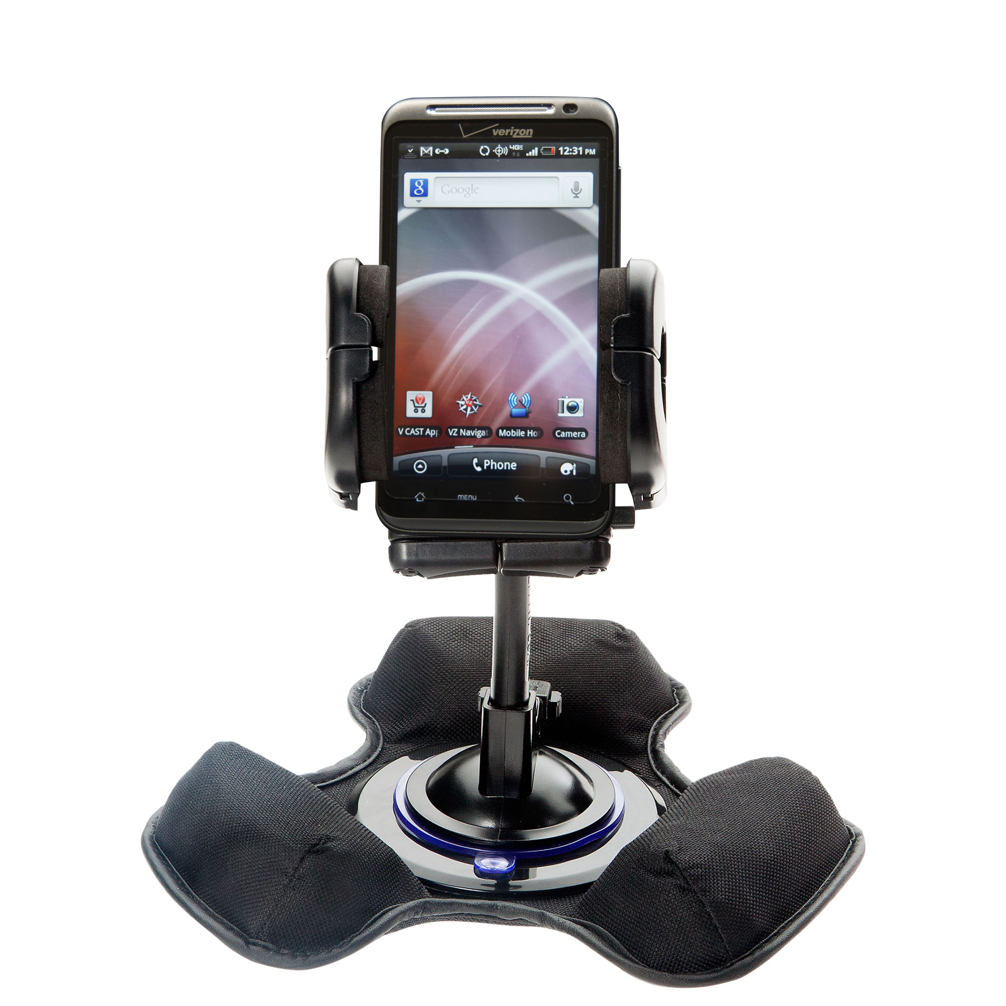 Dash and Windshield Holder compatible with the HTC Thunderbolt