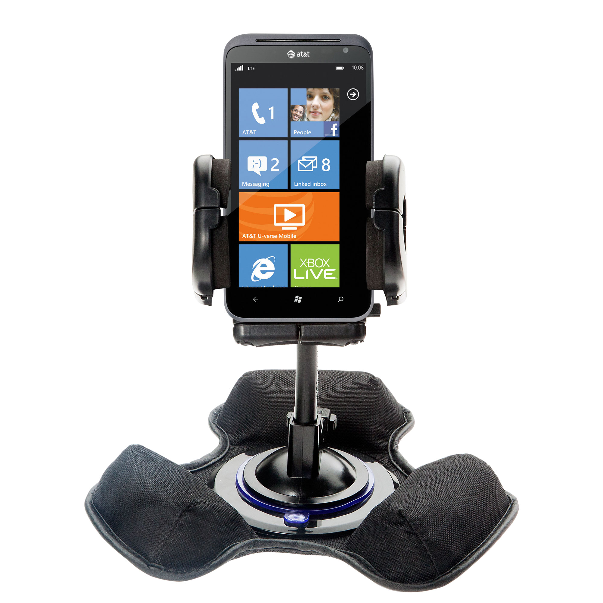Dash and Windshield Holder compatible with the HTC Titan II
