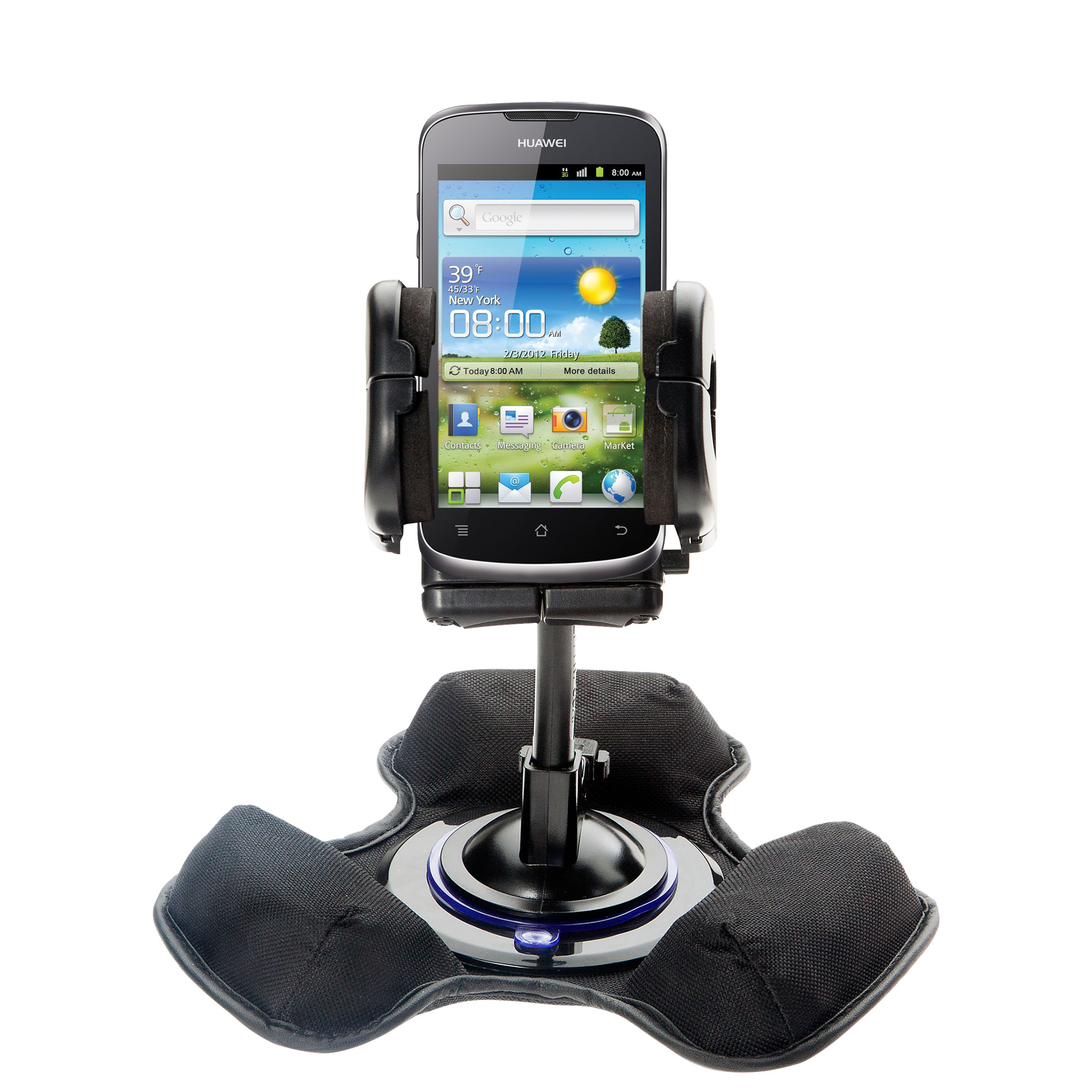 Dash and Windshield Holder compatible with the Huawei U8815
