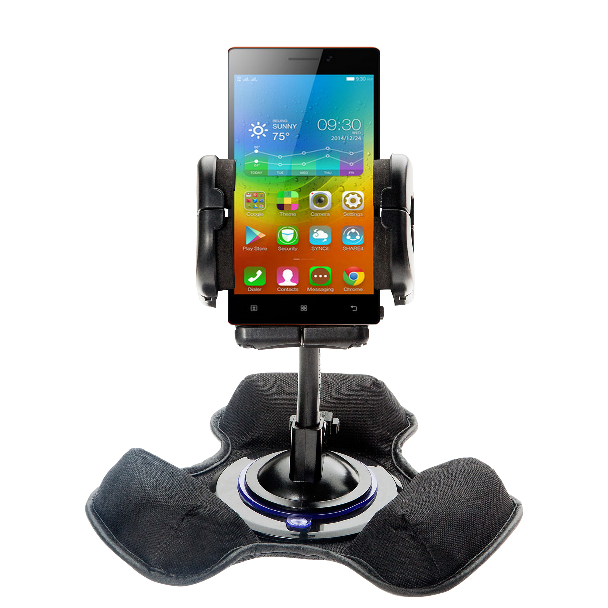 Dash and Windshield Holder compatible with the Lenovo VIBE X2