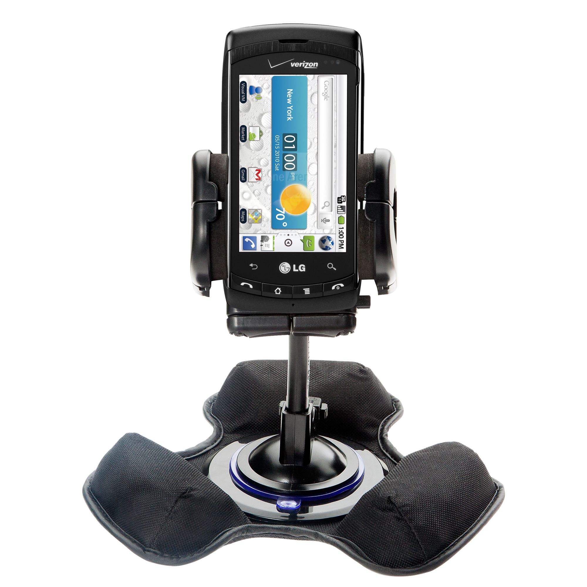 Dash and Windshield Holder compatible with the LG Ally