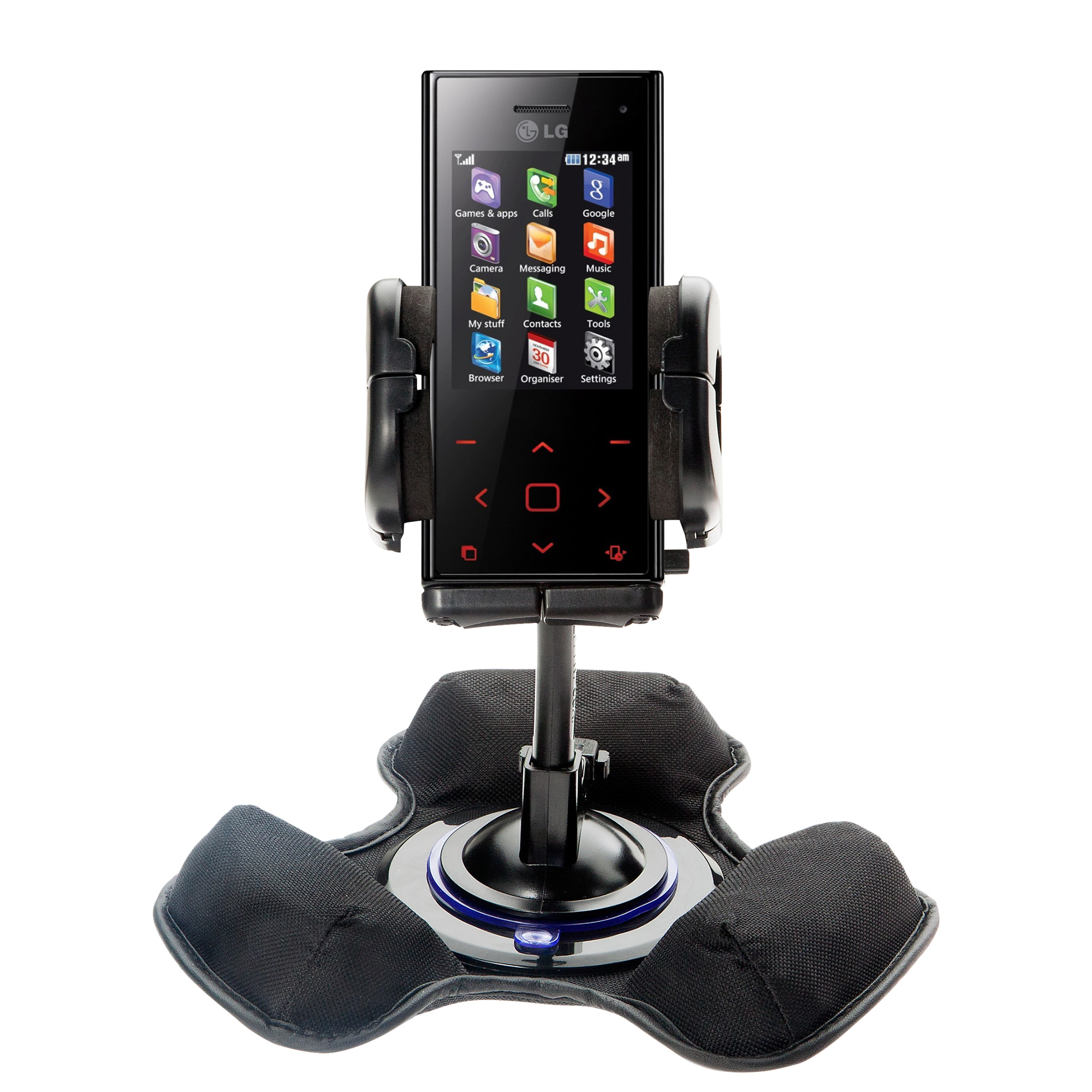 Dash and Windshield Holder compatible with the LG Chocolate BL42