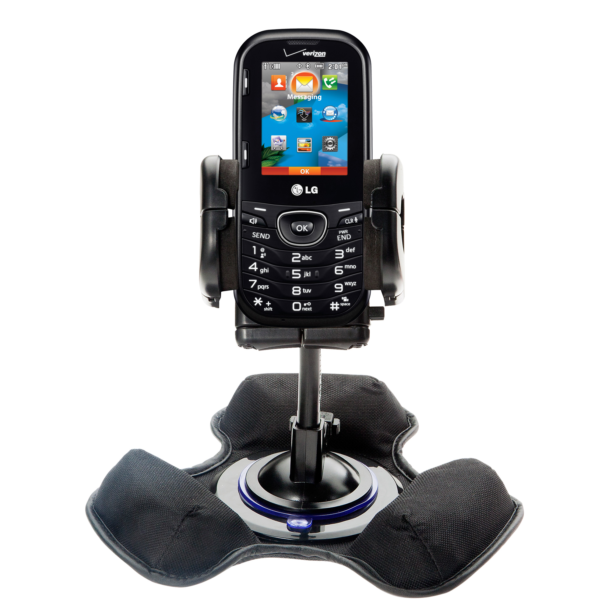 Dash and Windshield Holder compatible with the LG Cosmos 2