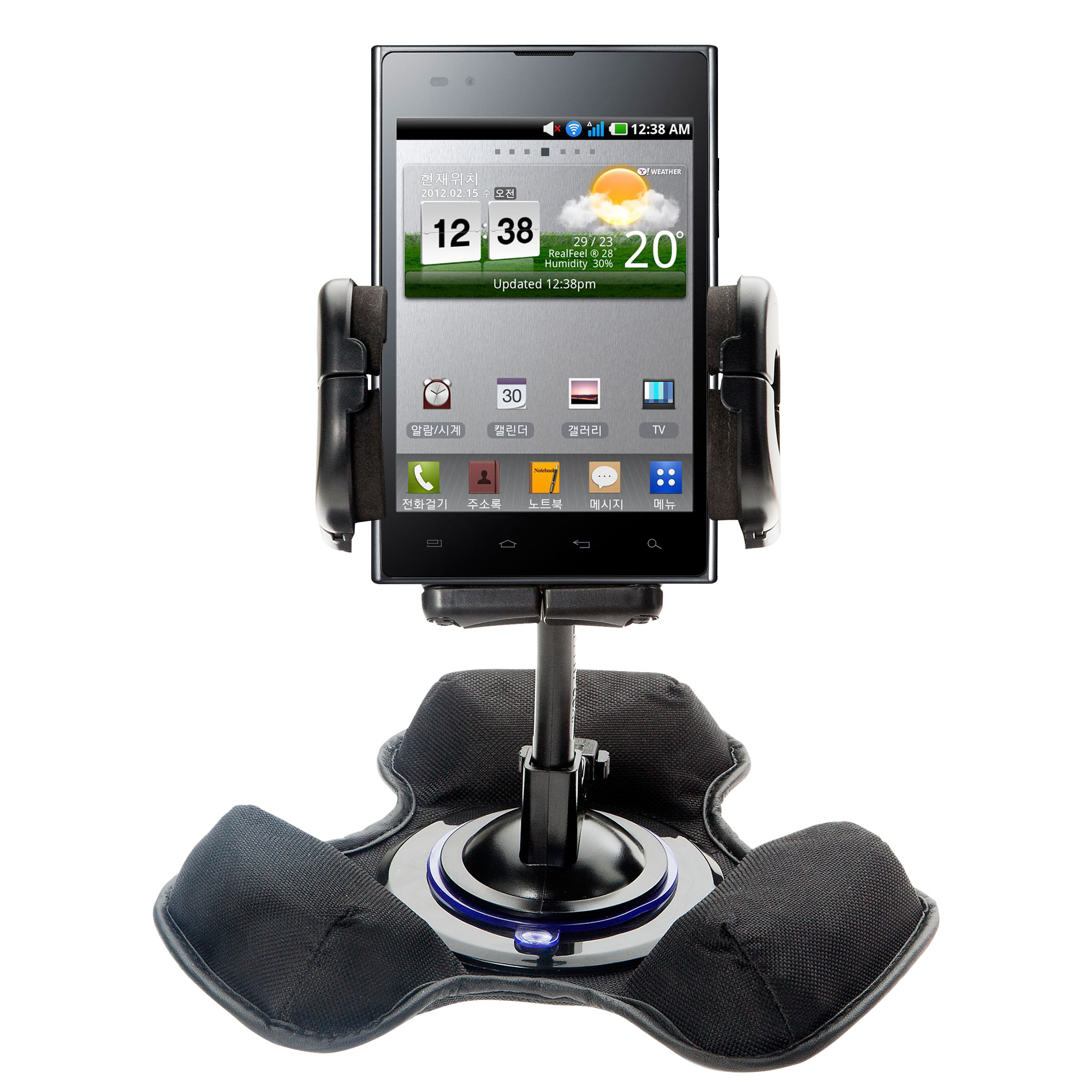 Dash and Windshield Holder compatible with the LG F100L