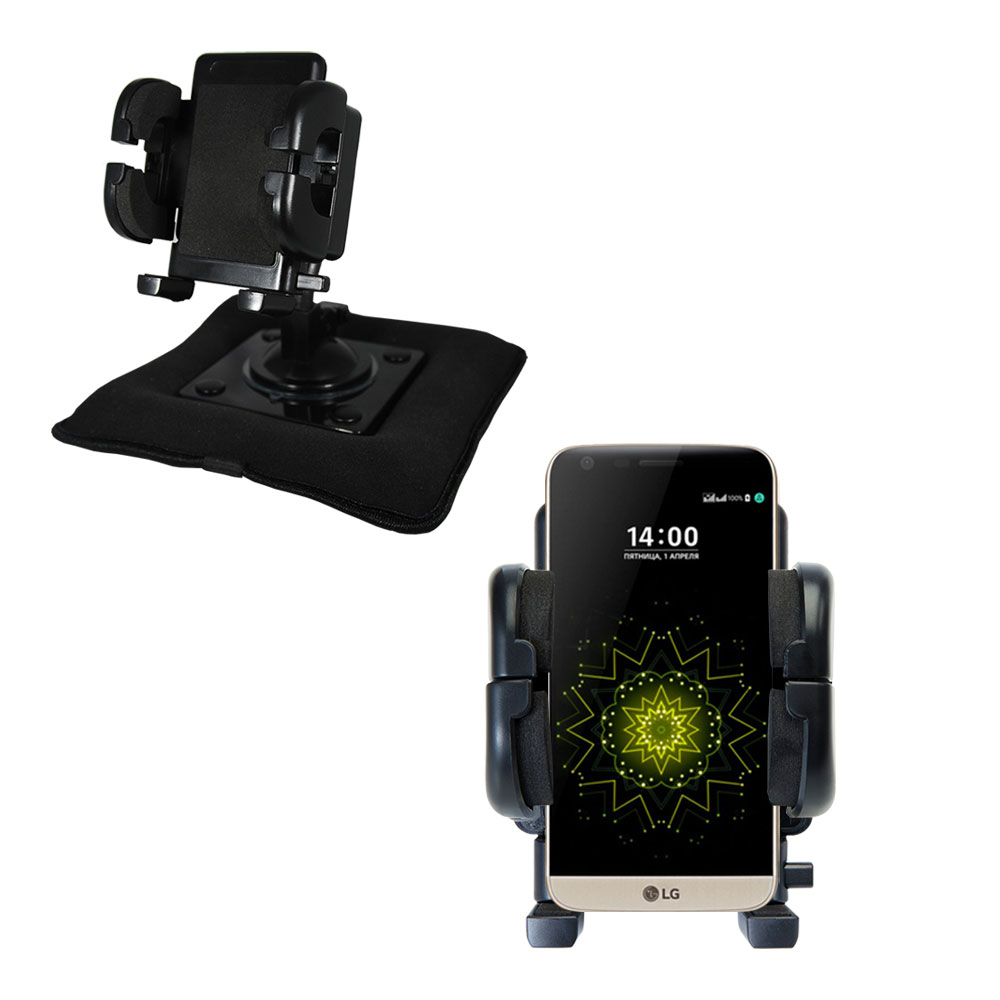 Dash and Windshield Holder compatible with the LG G5
