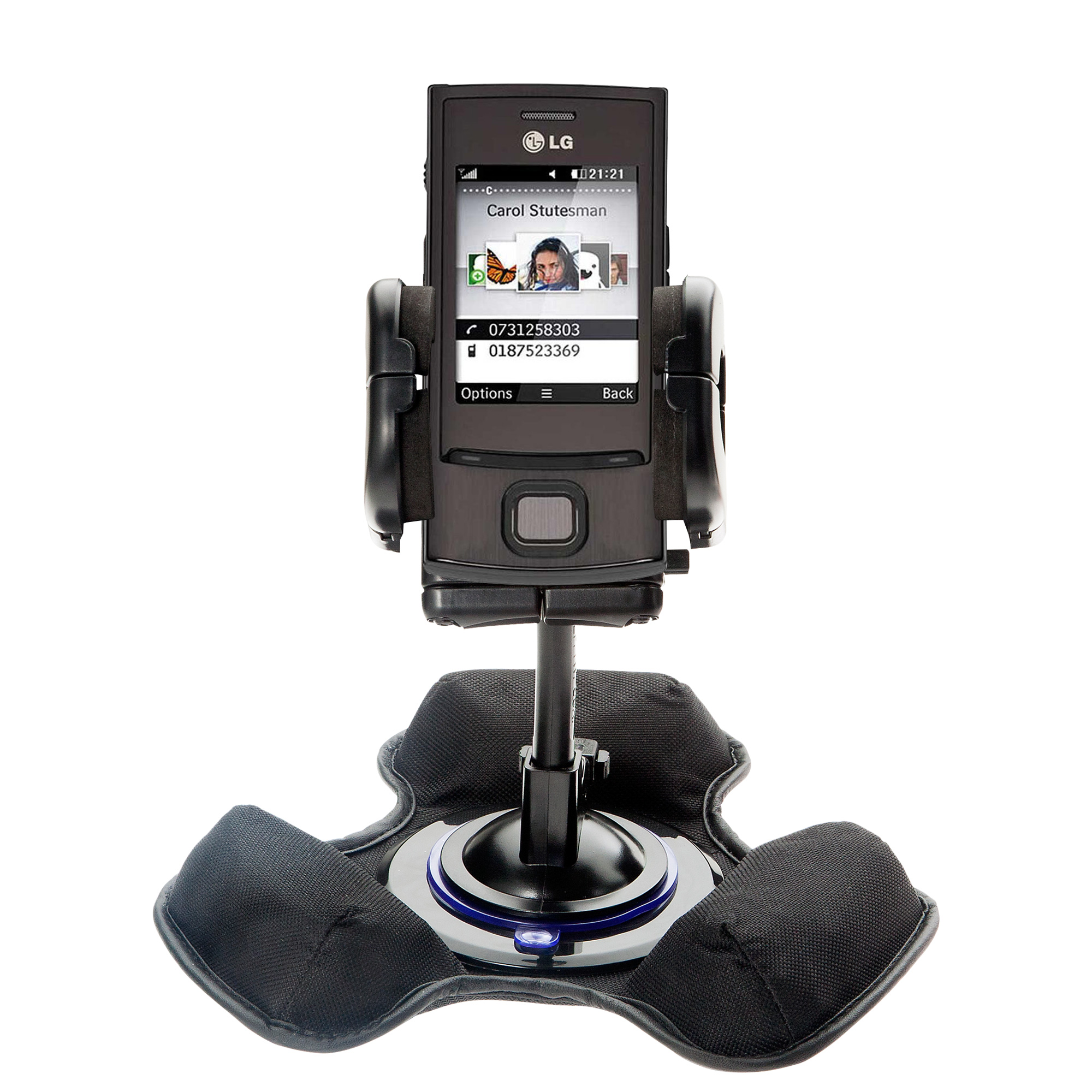 Dash and Windshield Holder compatible with the LG GD550