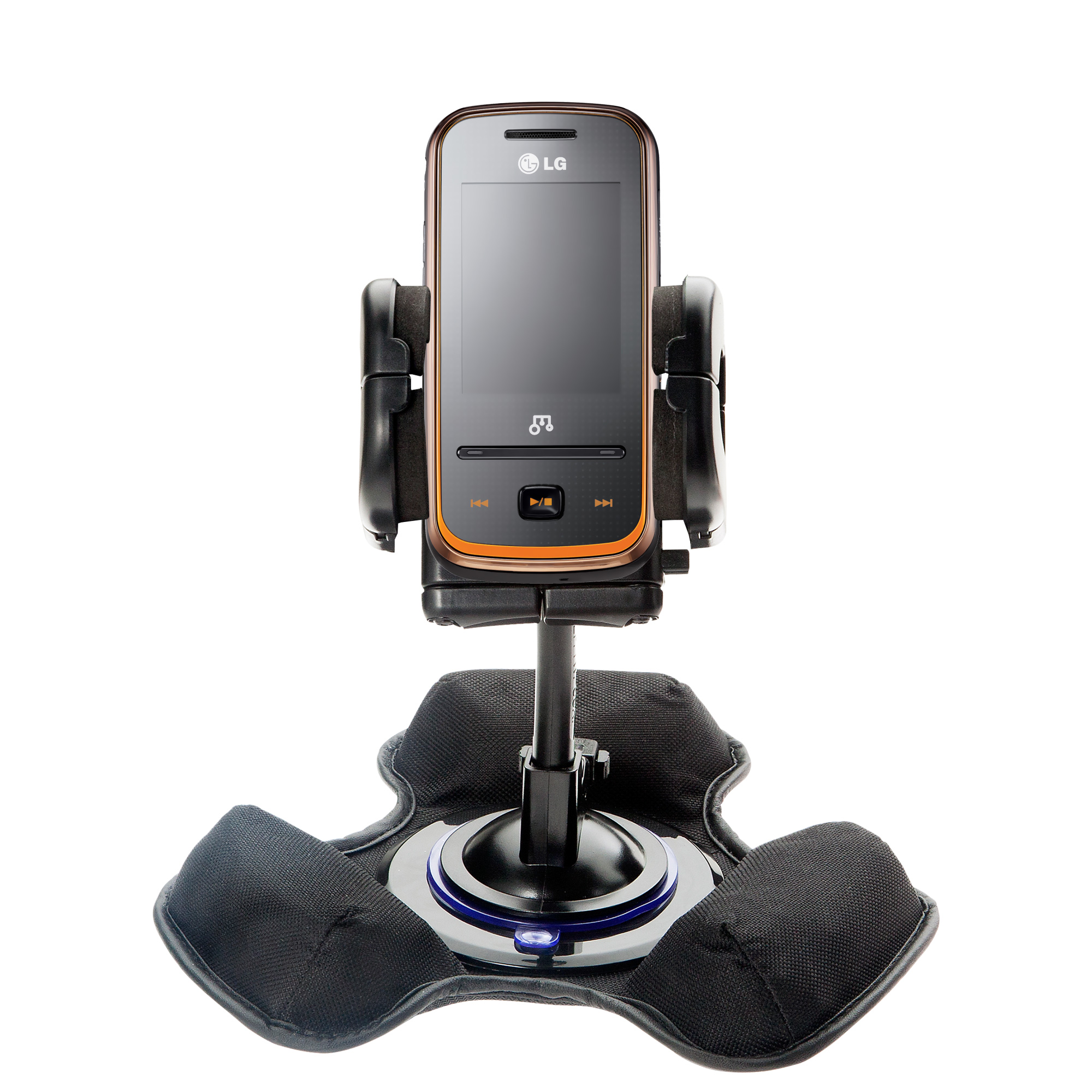 Dash and Windshield Holder compatible with the LG GM310