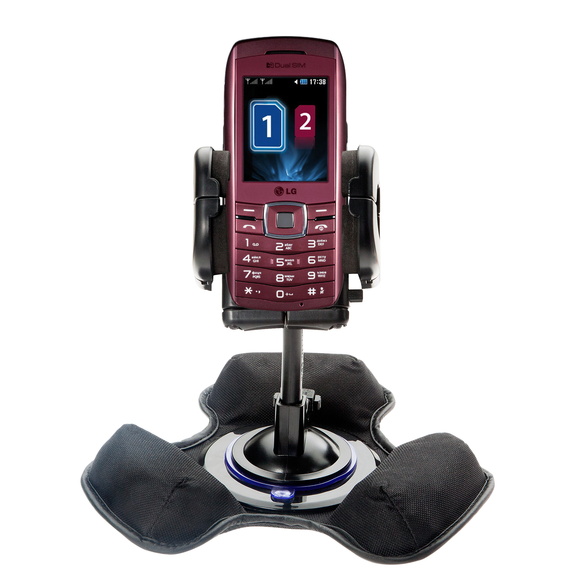 Dash and Windshield Holder compatible with the LG GX300