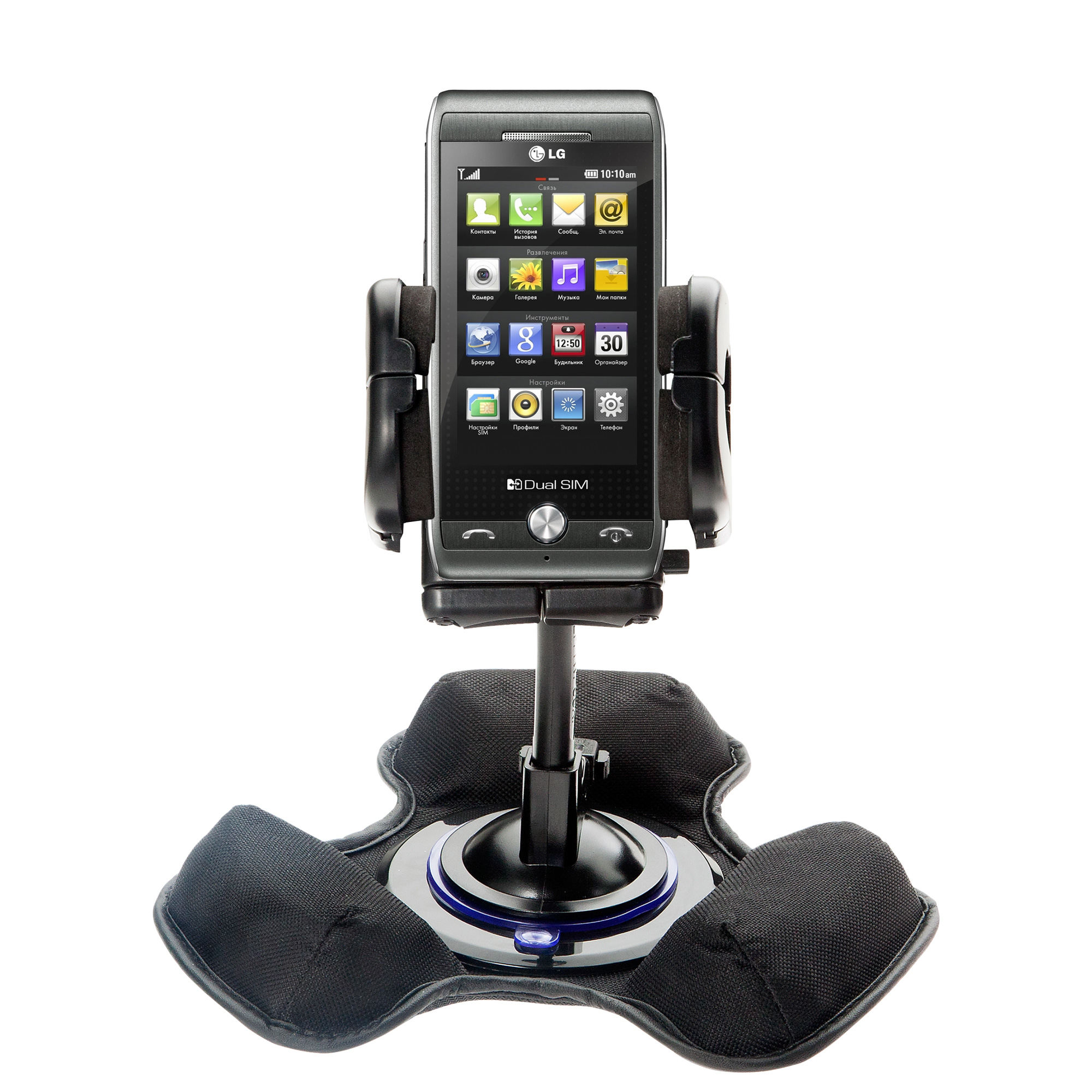 Dash and Windshield Holder compatible with the LG GX500
