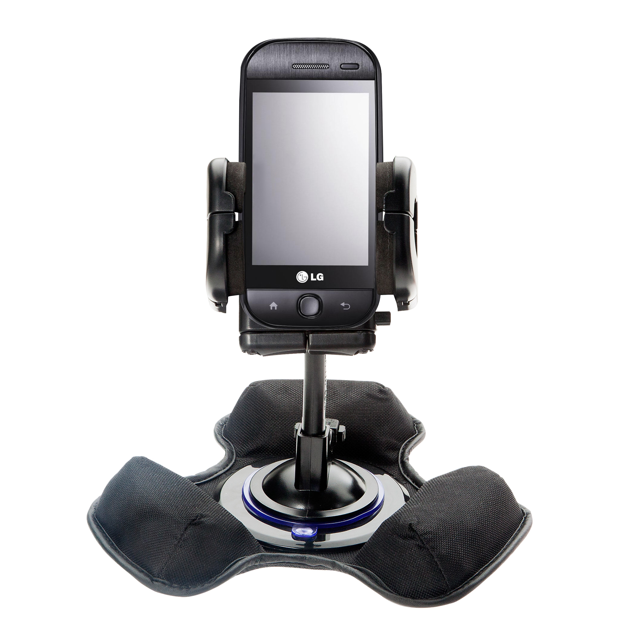 Dash and Windshield Holder compatible with the LG InTouch Max