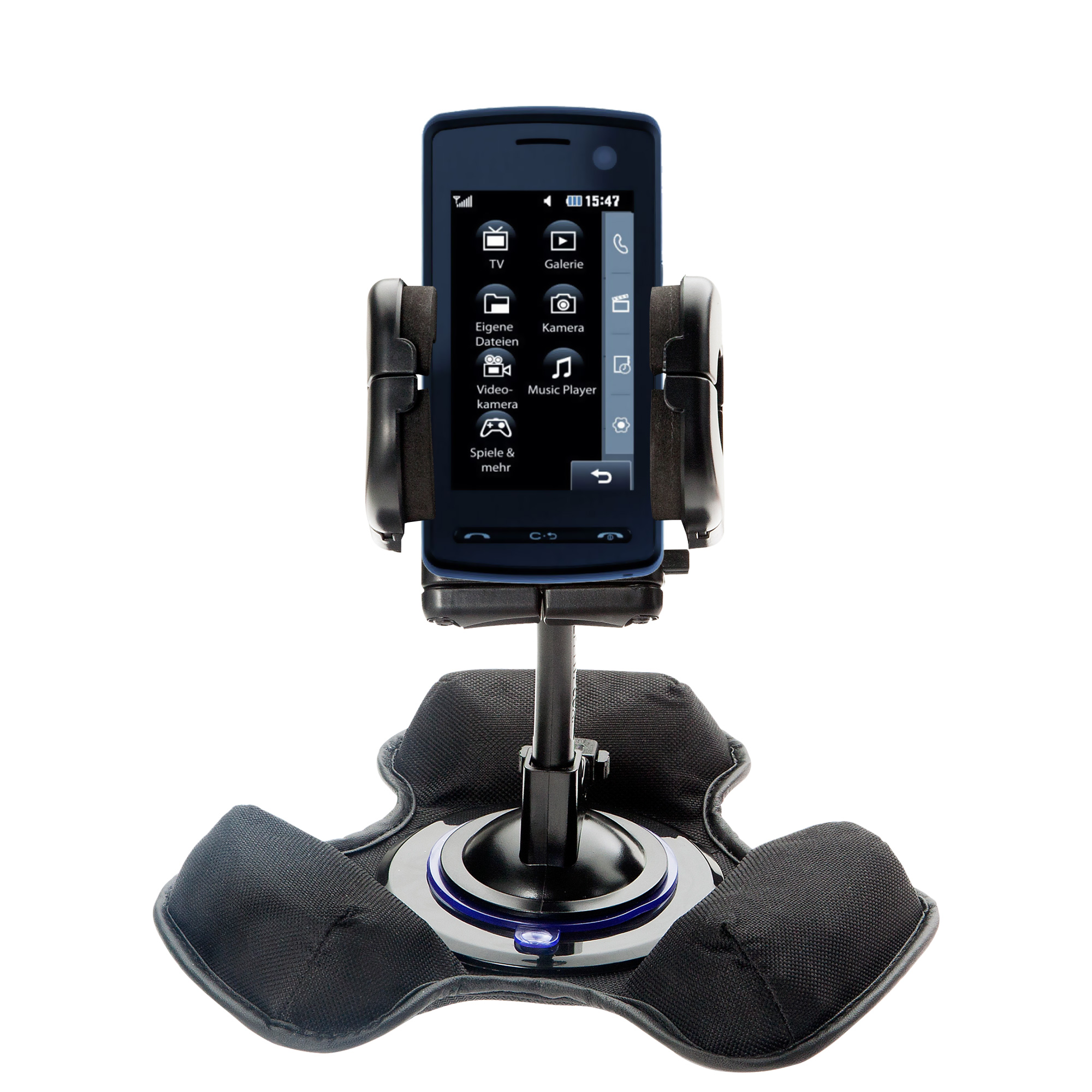 Dash and Windshield Holder compatible with the LG  KB770