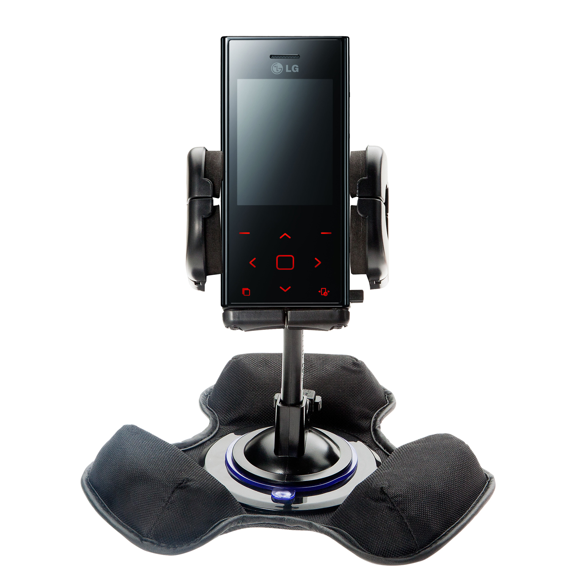 Dash and Windshield Holder compatible with the LG New Chocolate BL20