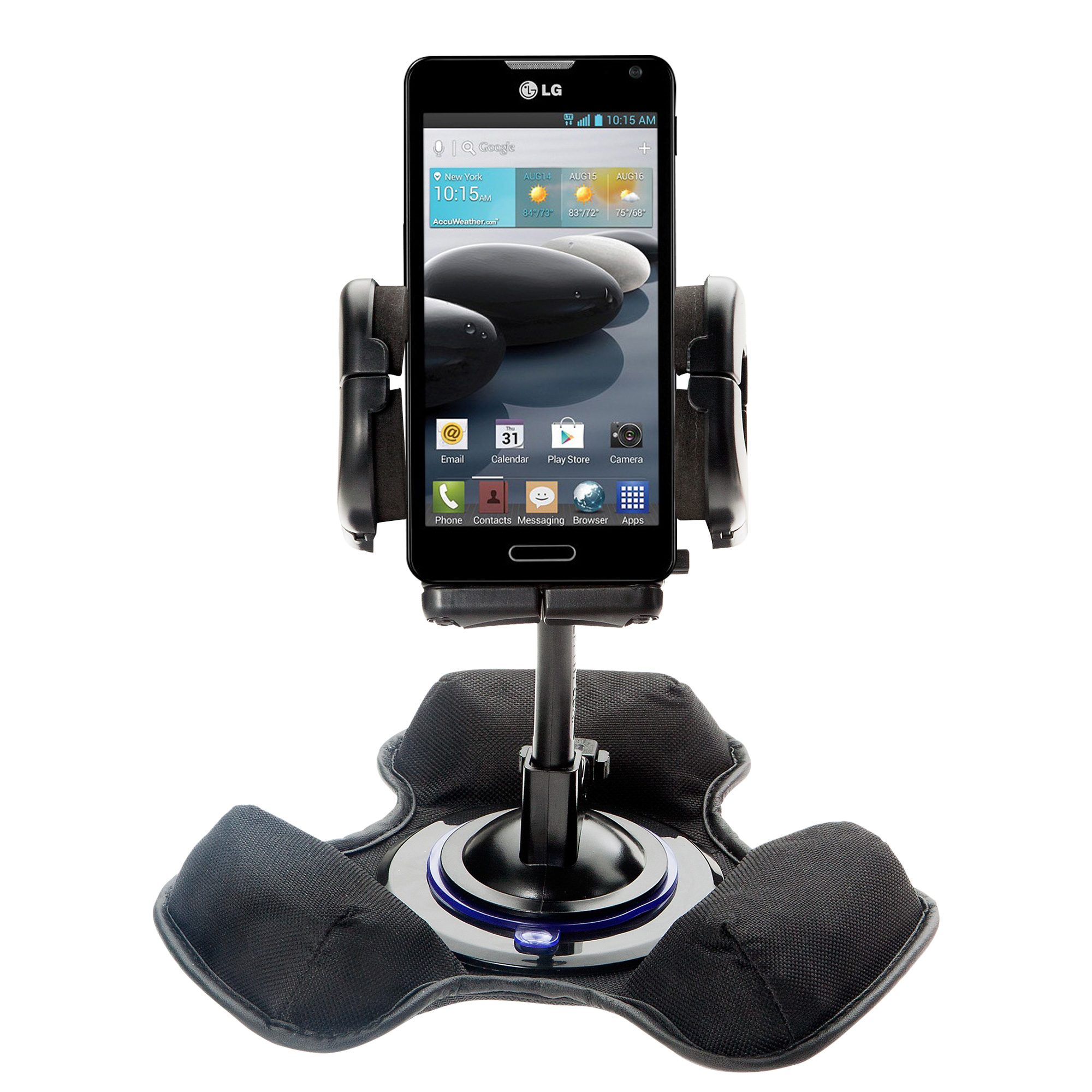 Dash and Windshield Holder compatible with the LG Optimus F6
