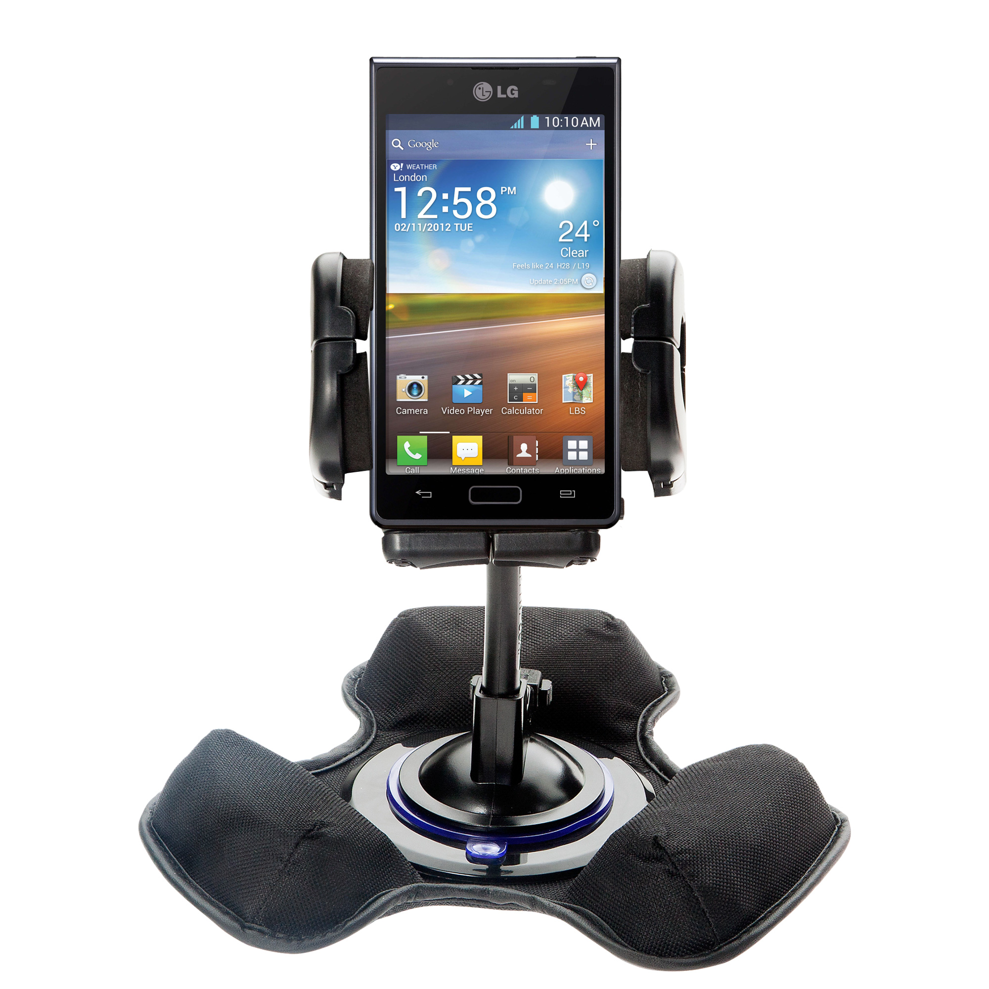 Dash and Windshield Holder compatible with the LG Optimus L7