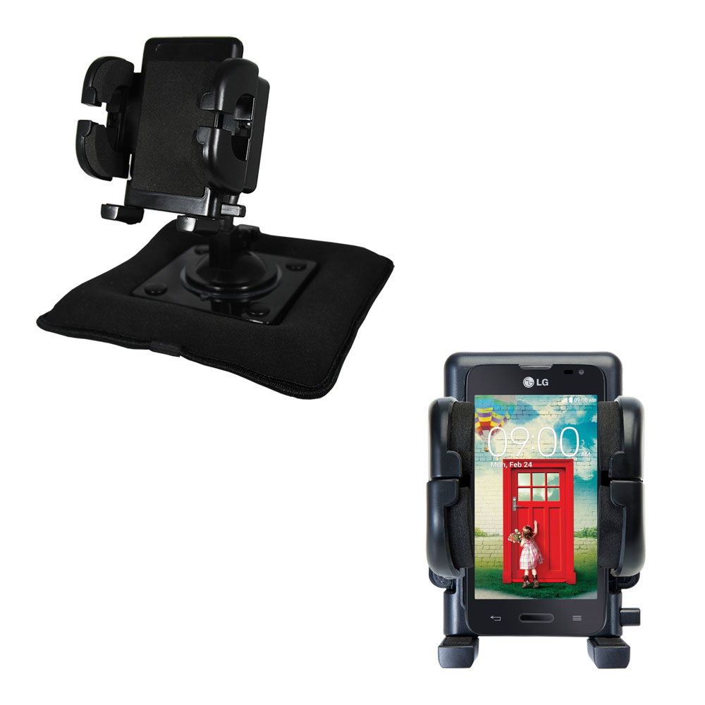 Dash and Windshield Holder compatible with the LG Optimus L70