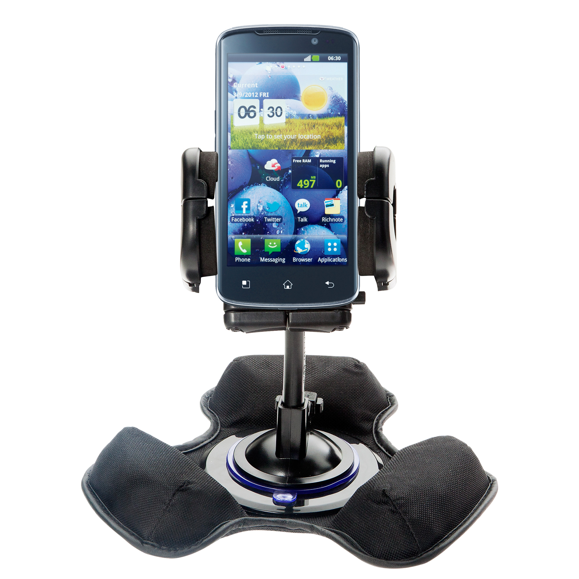 Dash and Windshield Holder compatible with the LG Optimus True HD