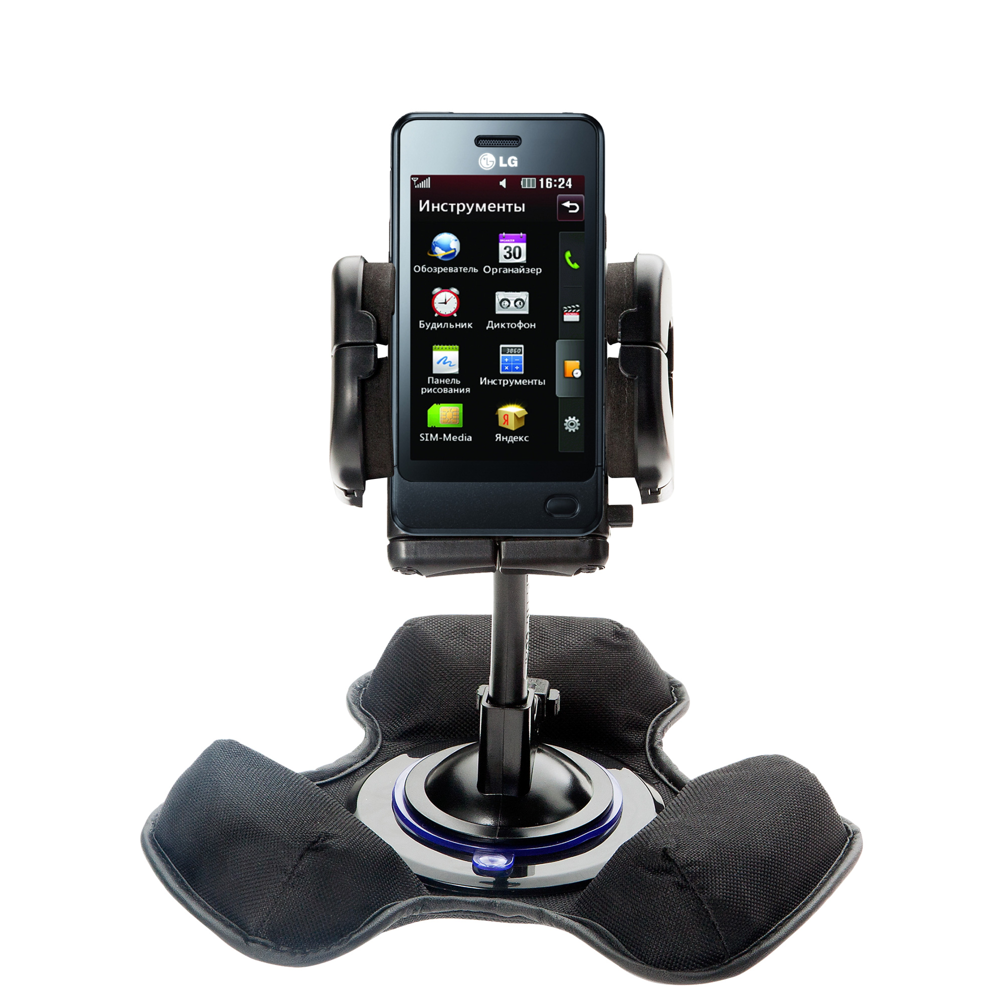 Dash and Windshield Holder compatible with the LG Pop GD510