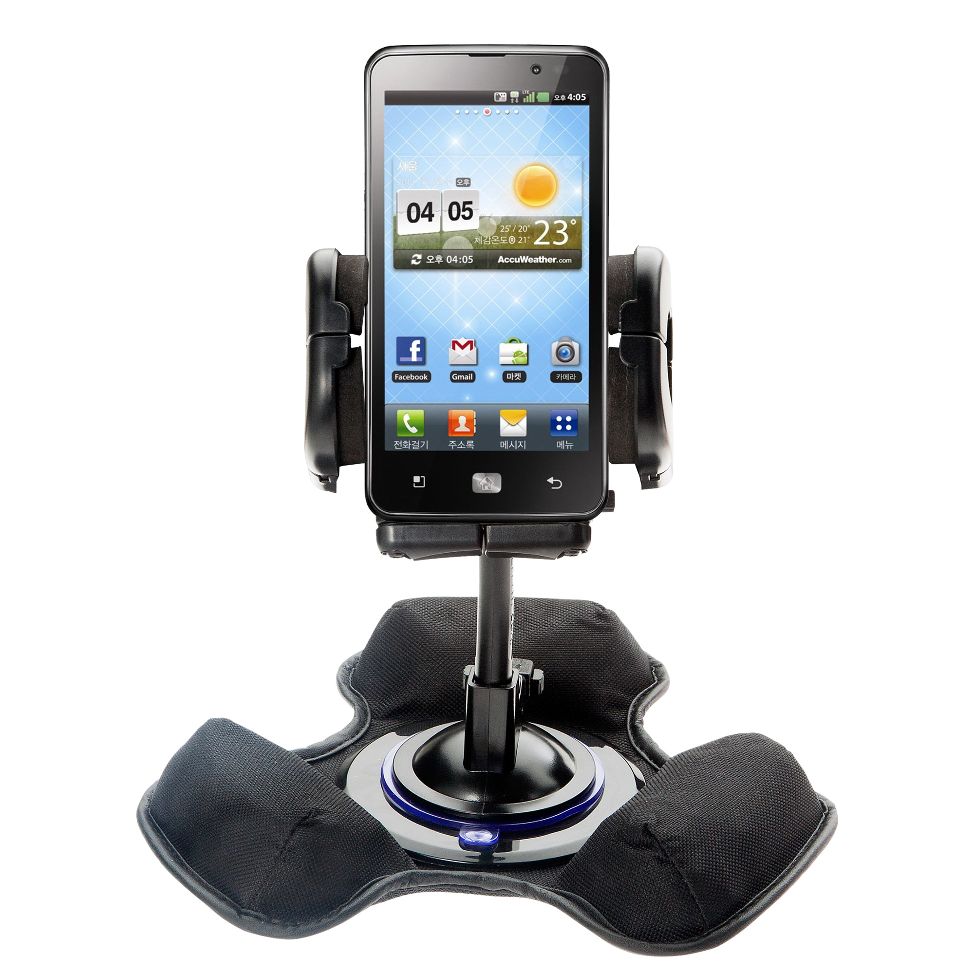 Dash and Windshield Holder compatible with the LG Revolution 2