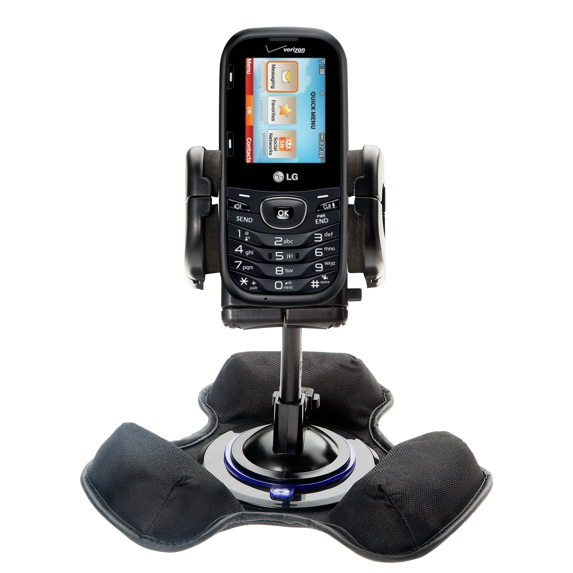 Dash and Windshield Holder compatible with the LG UN251