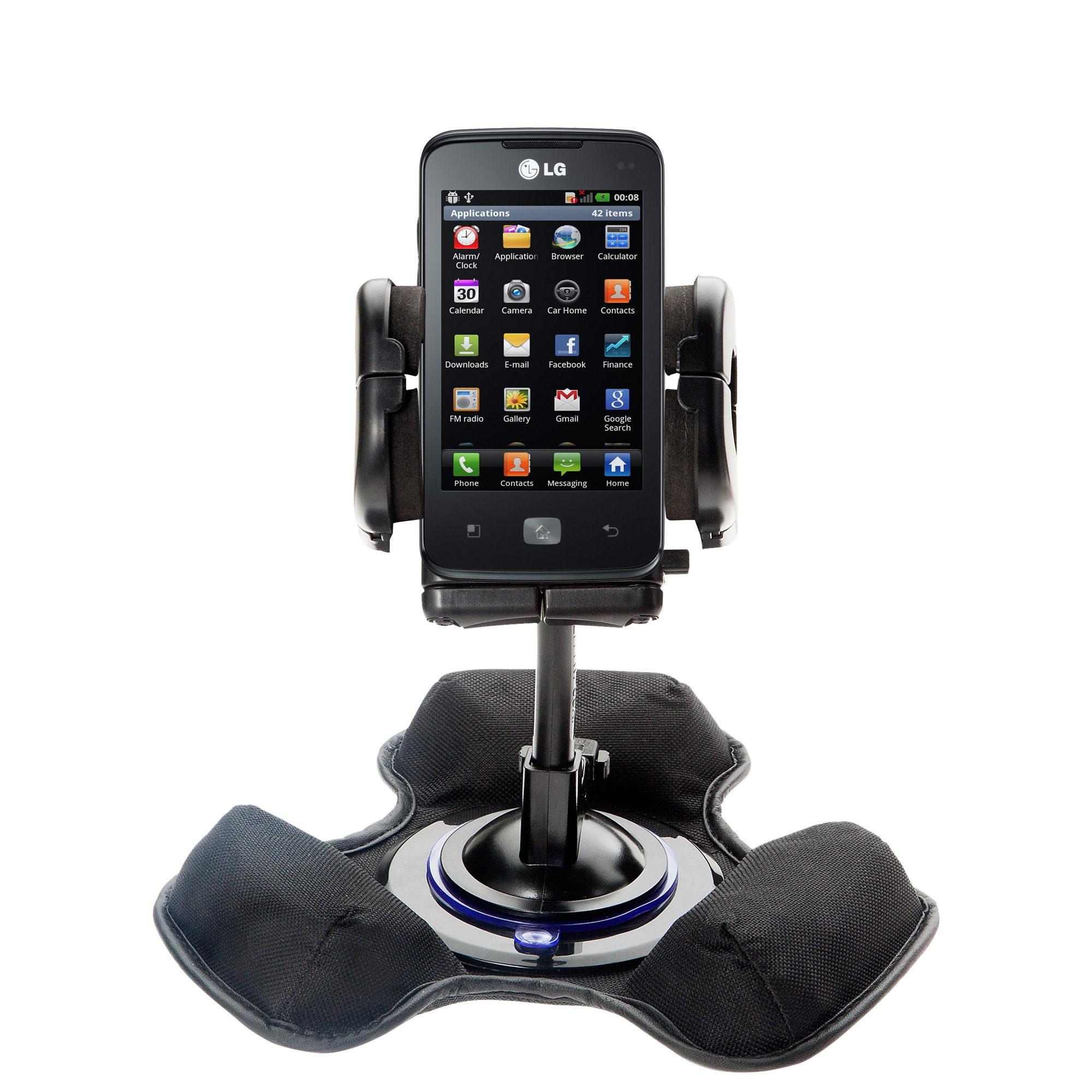 Dash and Windshield Holder compatible with the LG Univa