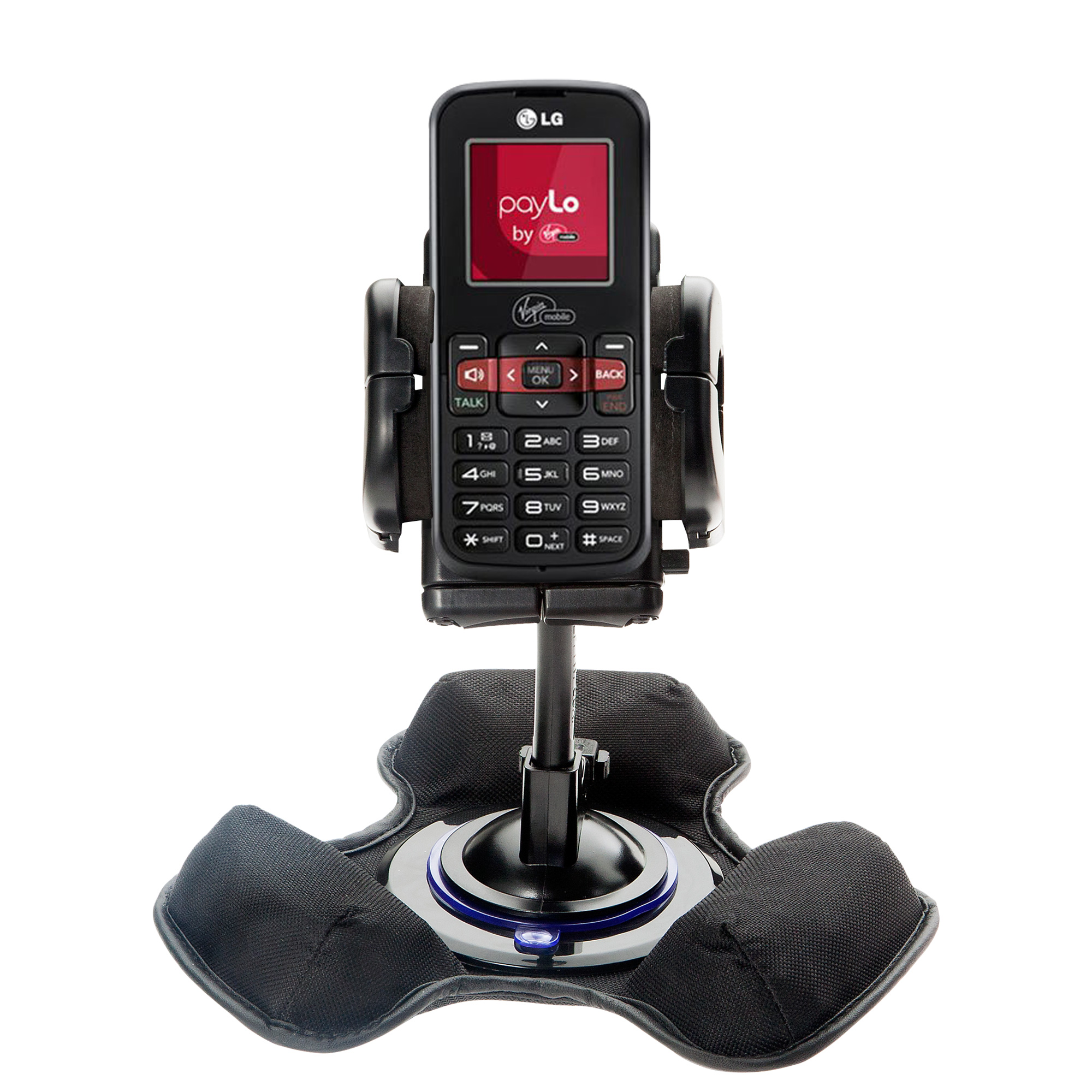 Dash and Windshield Holder compatible with the LG VM101