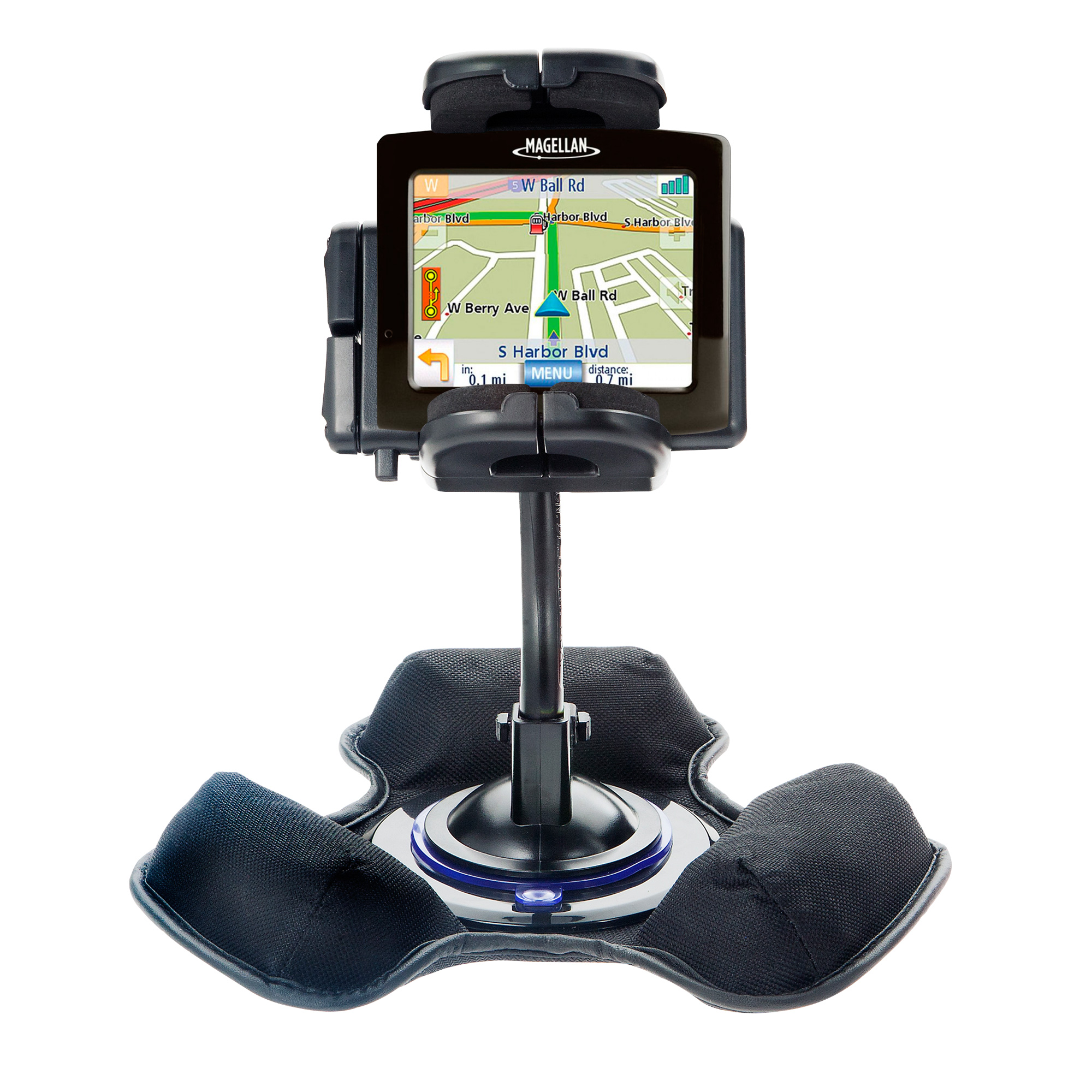 Dash and Windshield Holder compatible with the Magellan Maestro 3200
