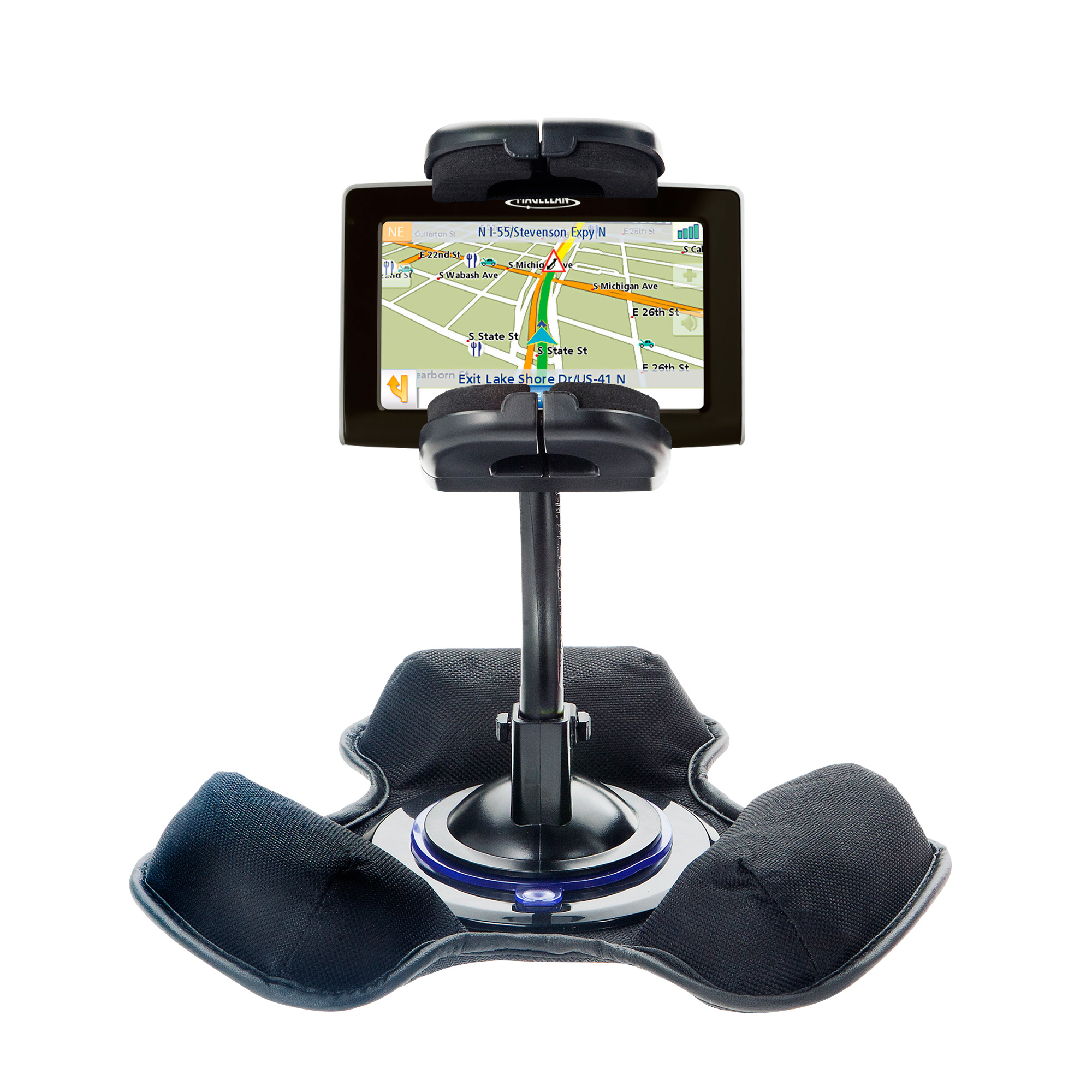 Dash and Windshield Holder compatible with the Magellan Maestro 4250