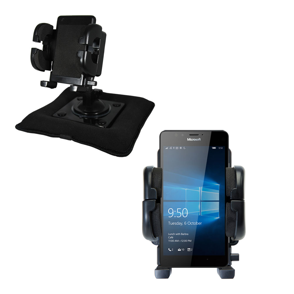 Dash and Windshield Holder compatible with the Microsoft Lumia 950